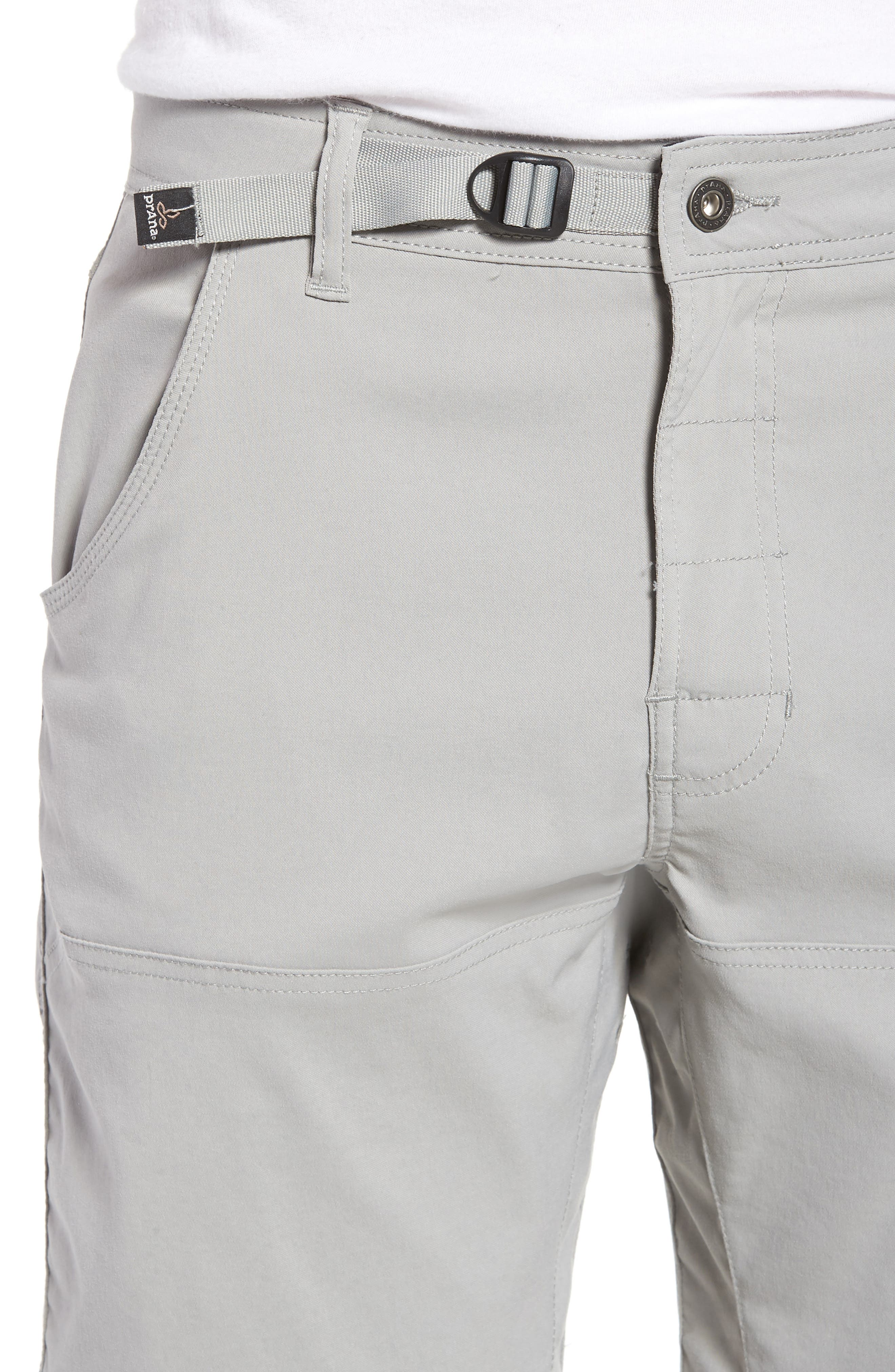 Zion Stretch Shorts,                             Alternate thumbnail 4, color,                             Grey