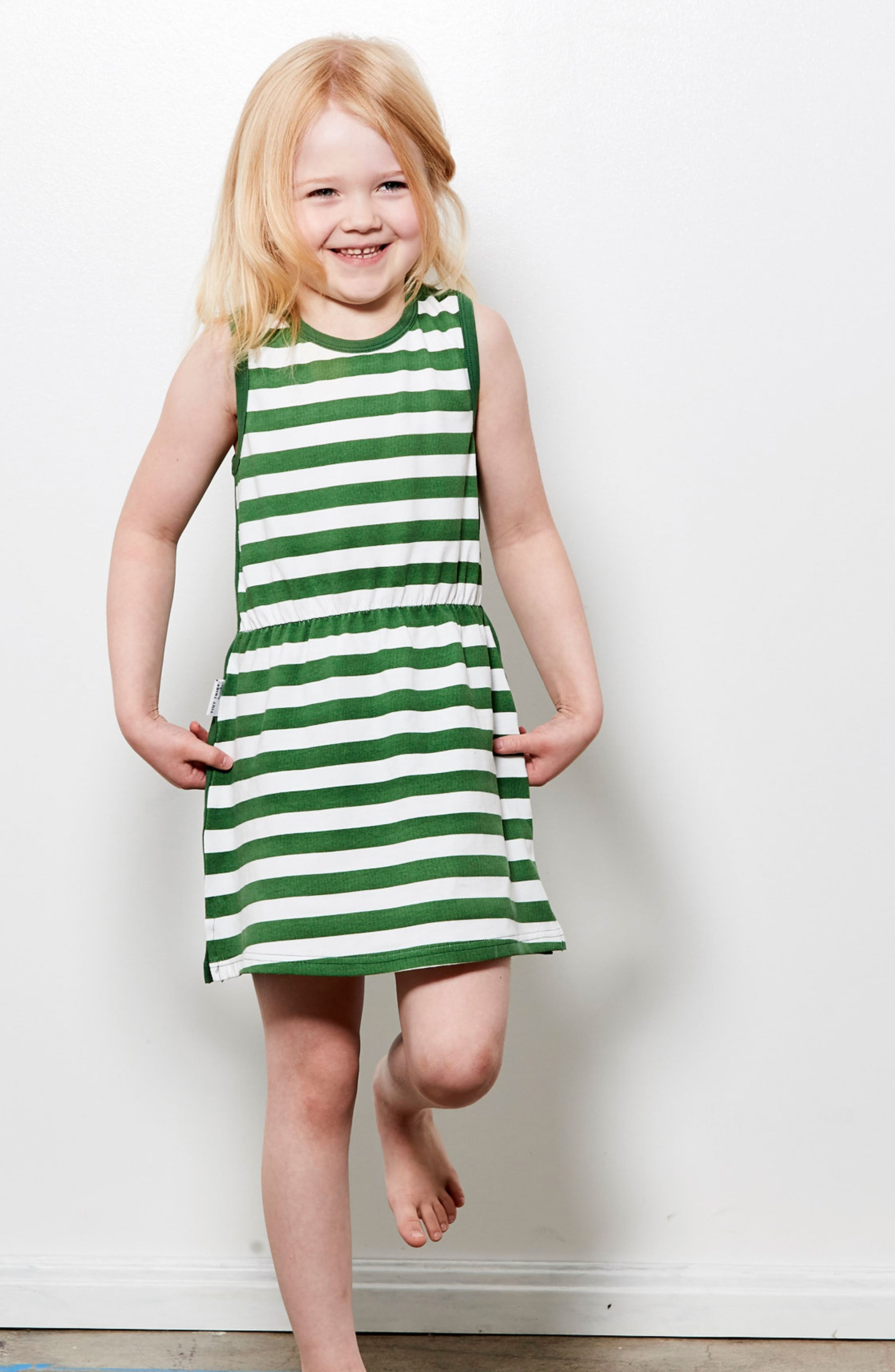 Check You Later Racerback Dress,                             Alternate thumbnail 4, color,                             Green