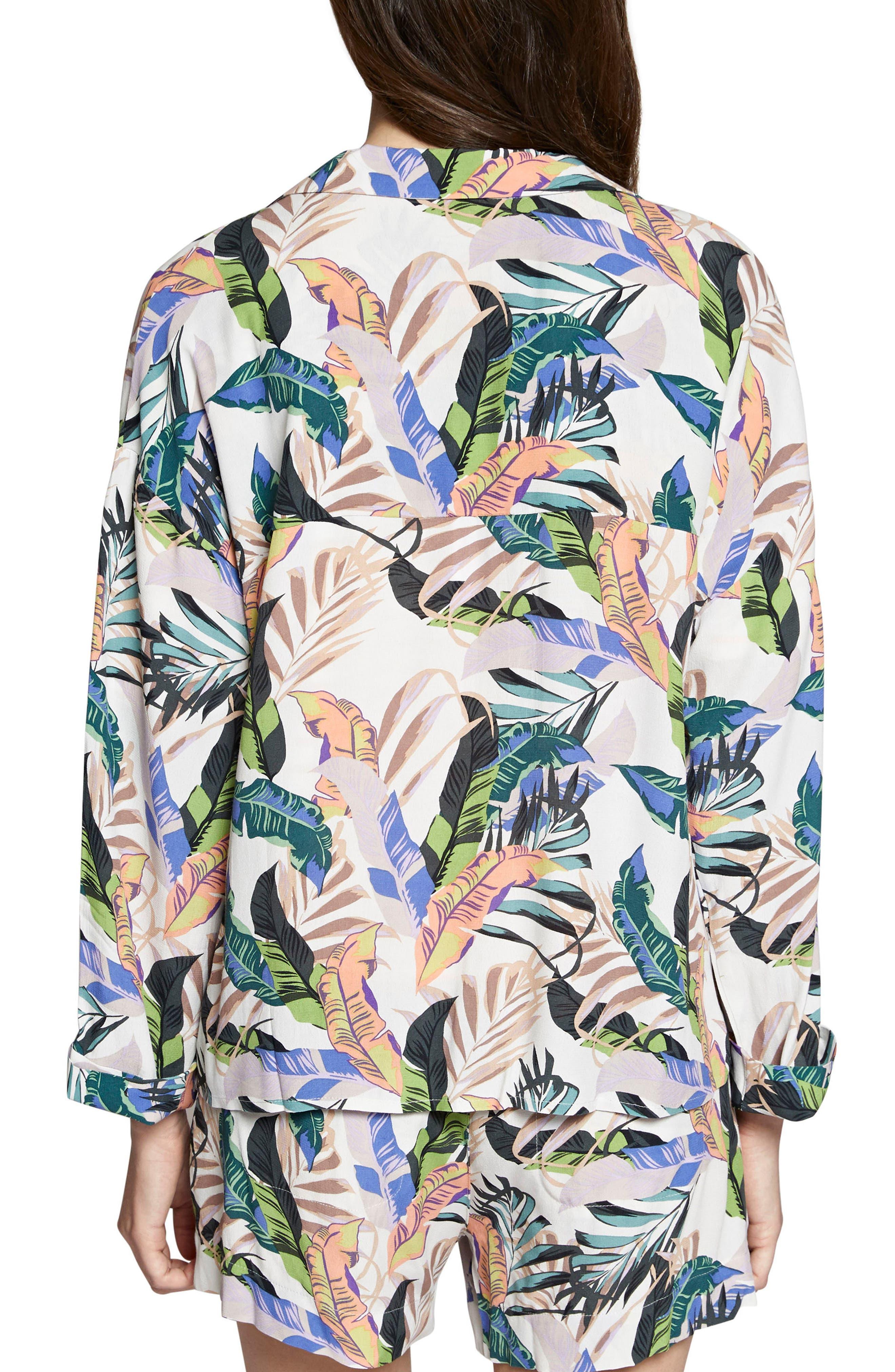 Aurora Print Jacket,                             Alternate thumbnail 2, color,                             Tropics