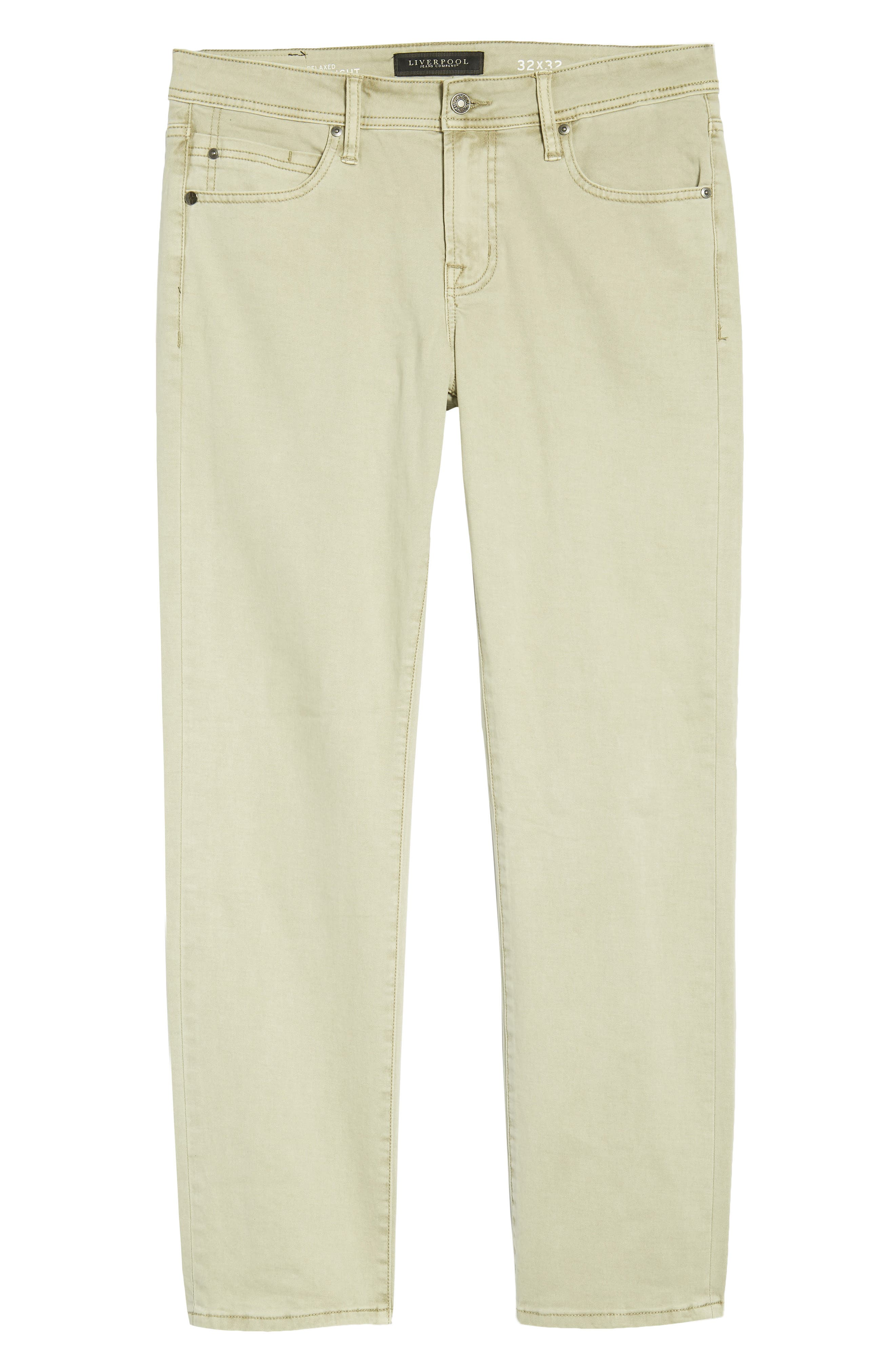 Jeans Co. Straight Leg Jeans,                             Alternate thumbnail 6, color,                             Sandstrom