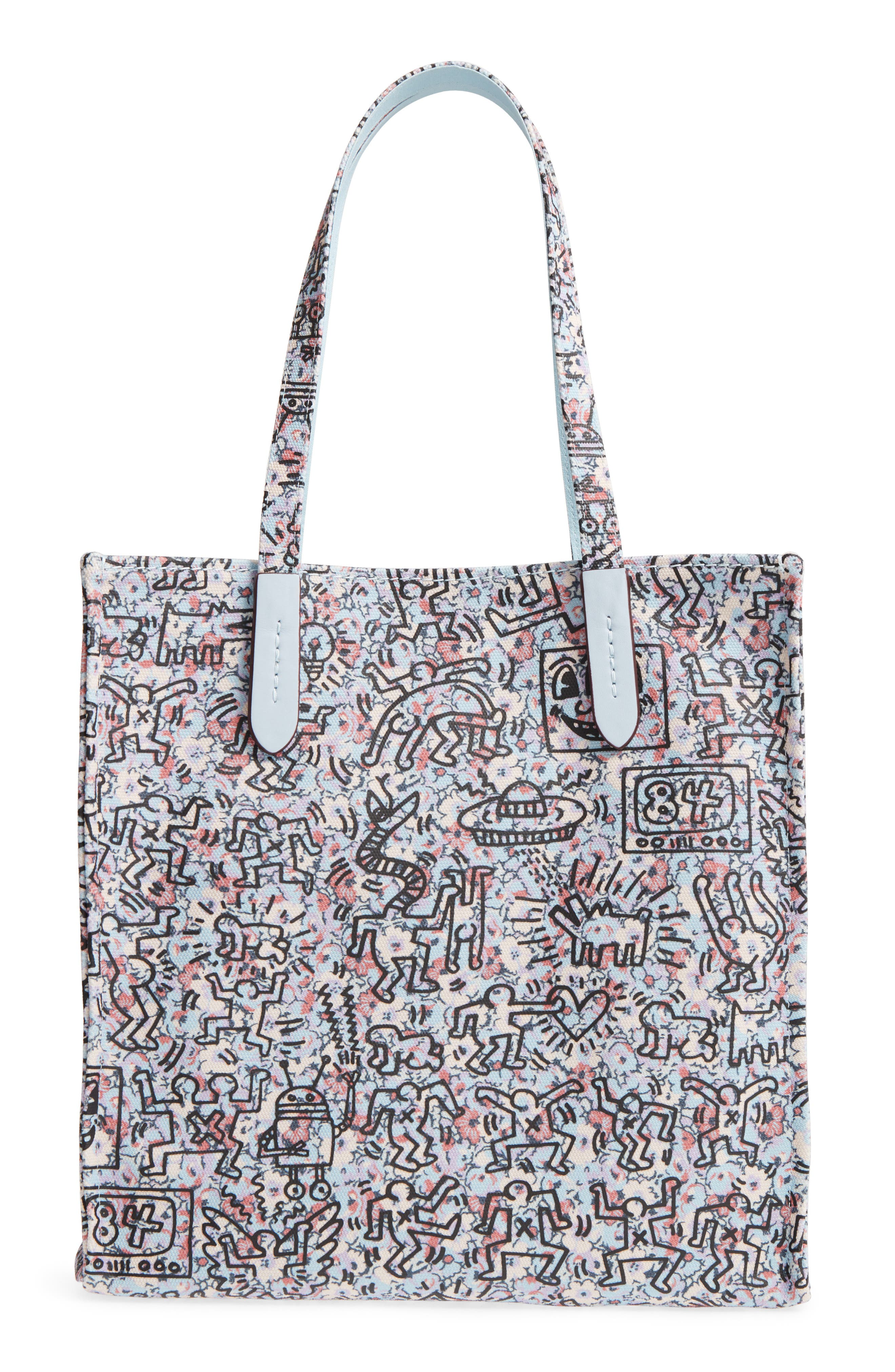 COACH x Keith Haring Print Canvas Tote