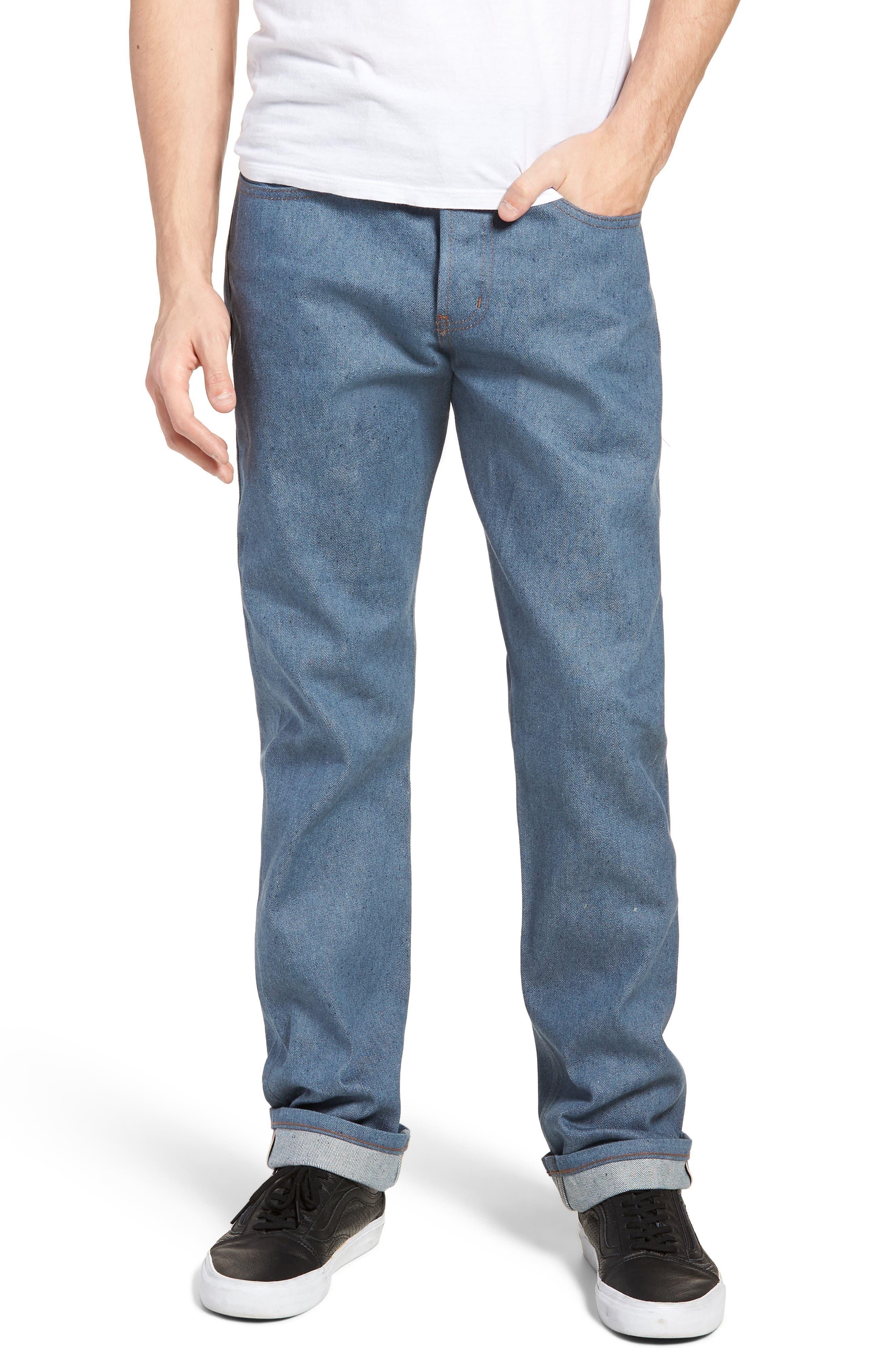 Weird Guy Slim Fit Jeans,                         Main,                         color, Recycled Yarn
