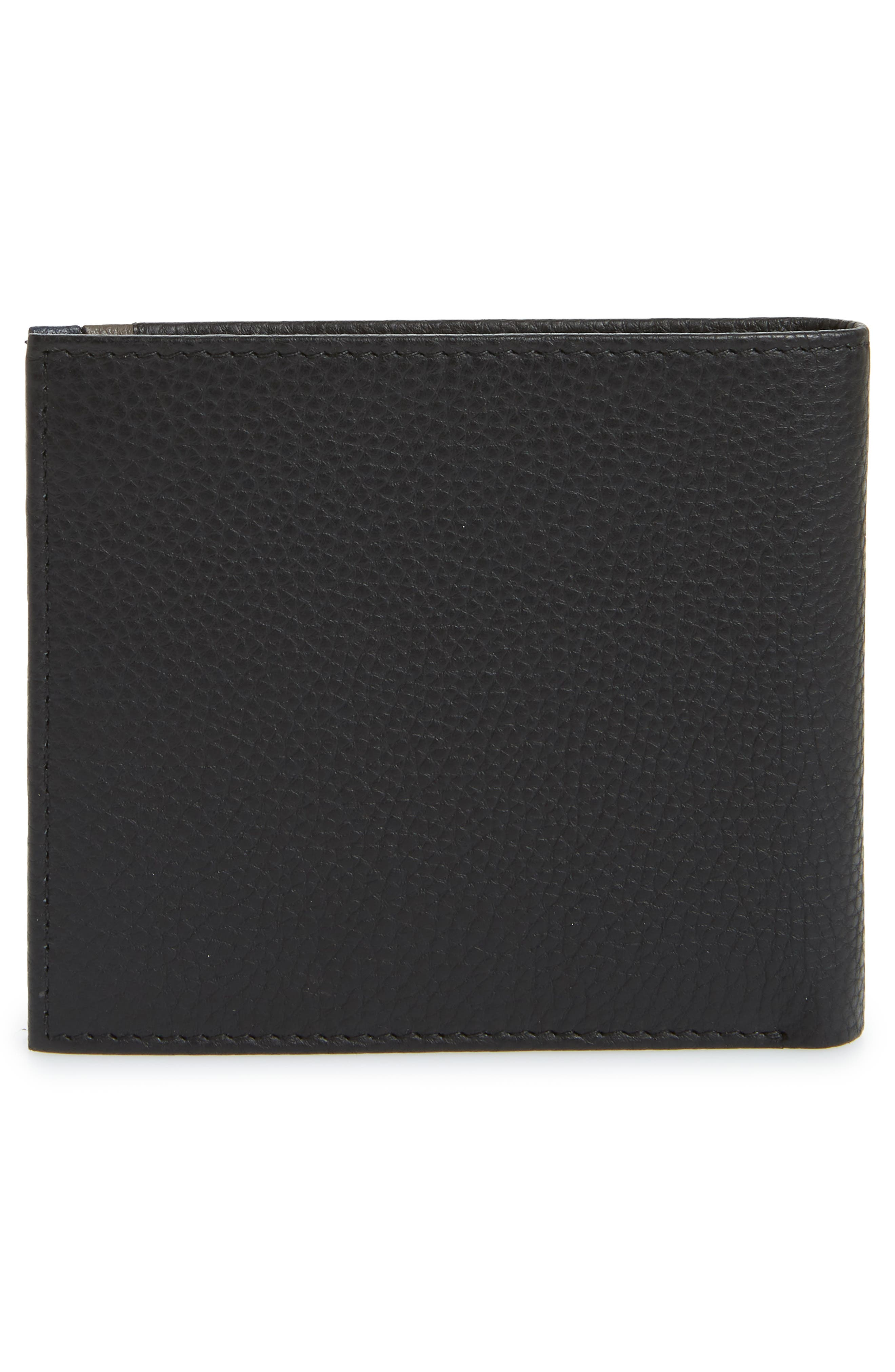 Alternate Image 3  - Ted Baker London Snapper Colored Leather Wallet