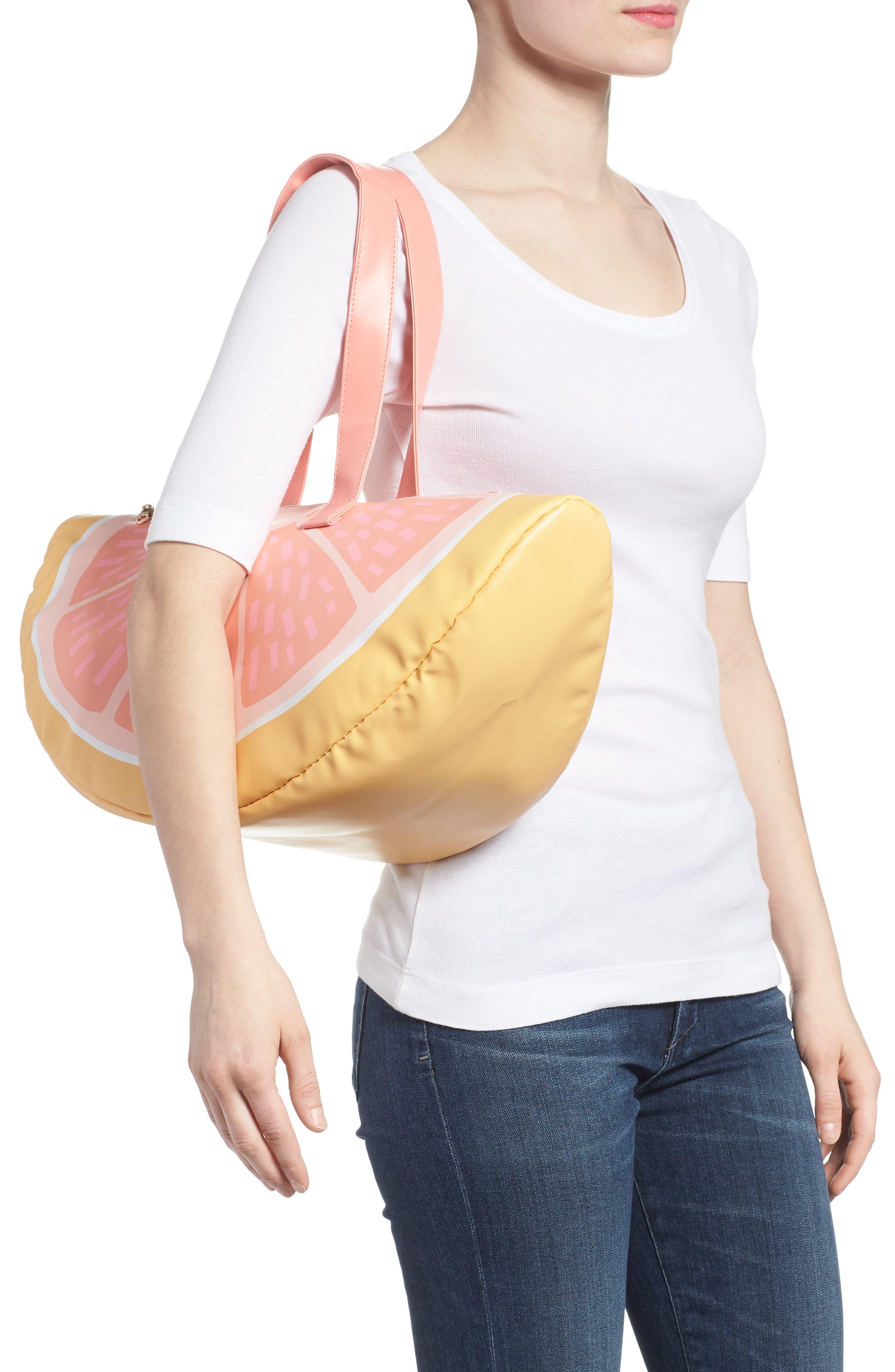 Grapefruit Cooler Bag,                             Alternate thumbnail 2, color,                             Coral