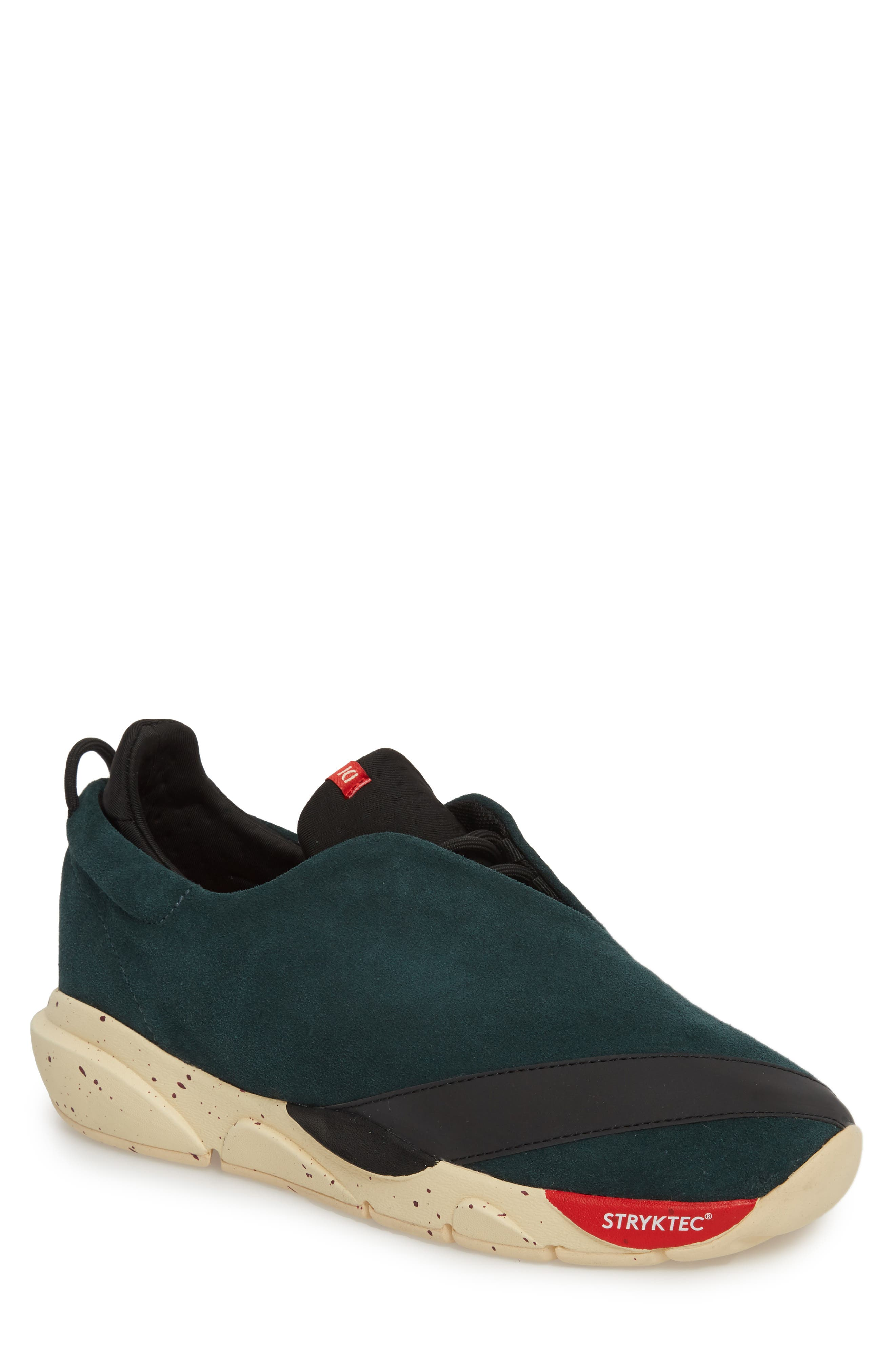 The Alpha Sneaker,                             Main thumbnail 1, color,                             Sequoia Green Leather