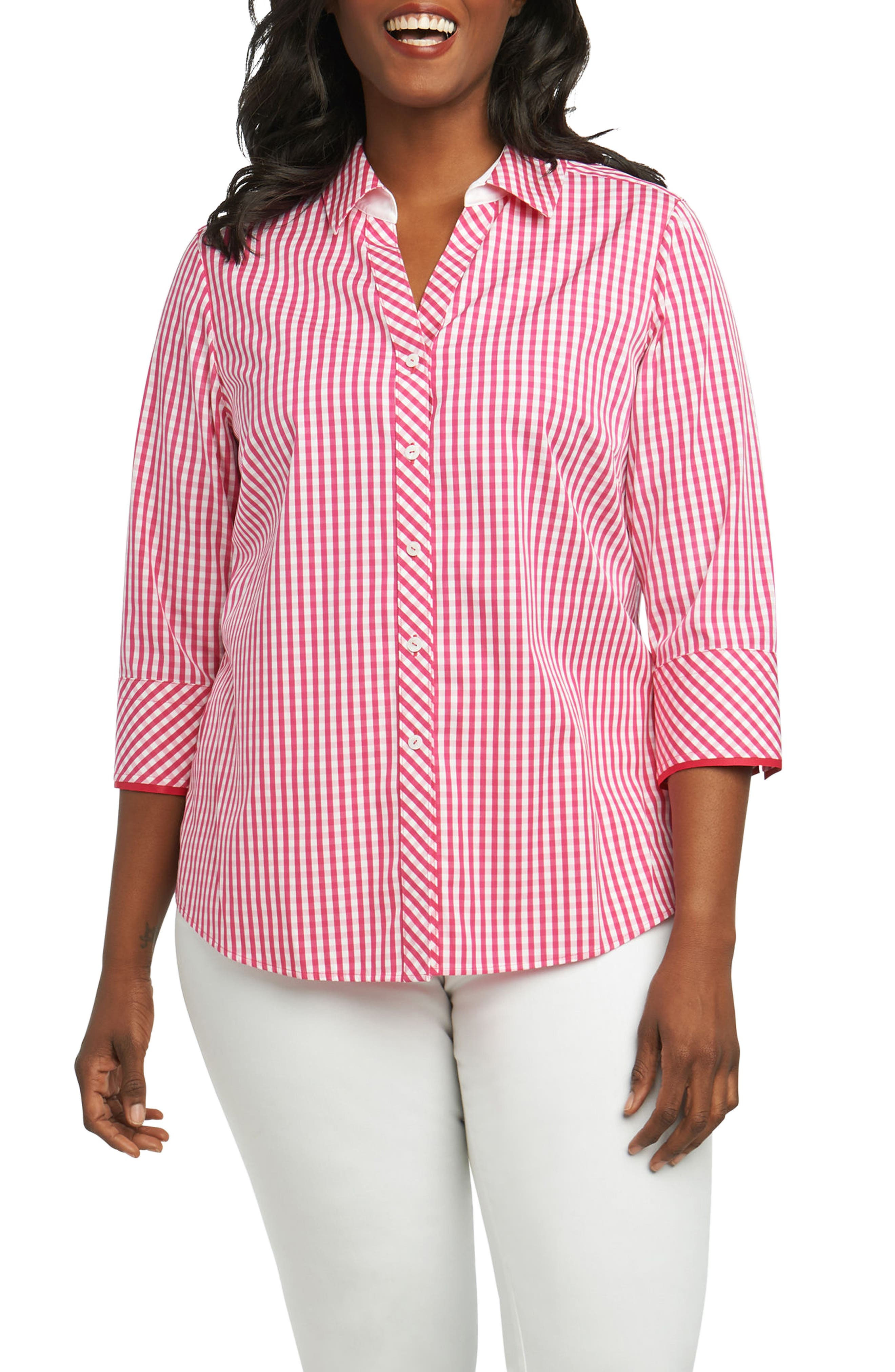 Foxcroft No Iron Blouses Nordstrom Rockwall Auction
