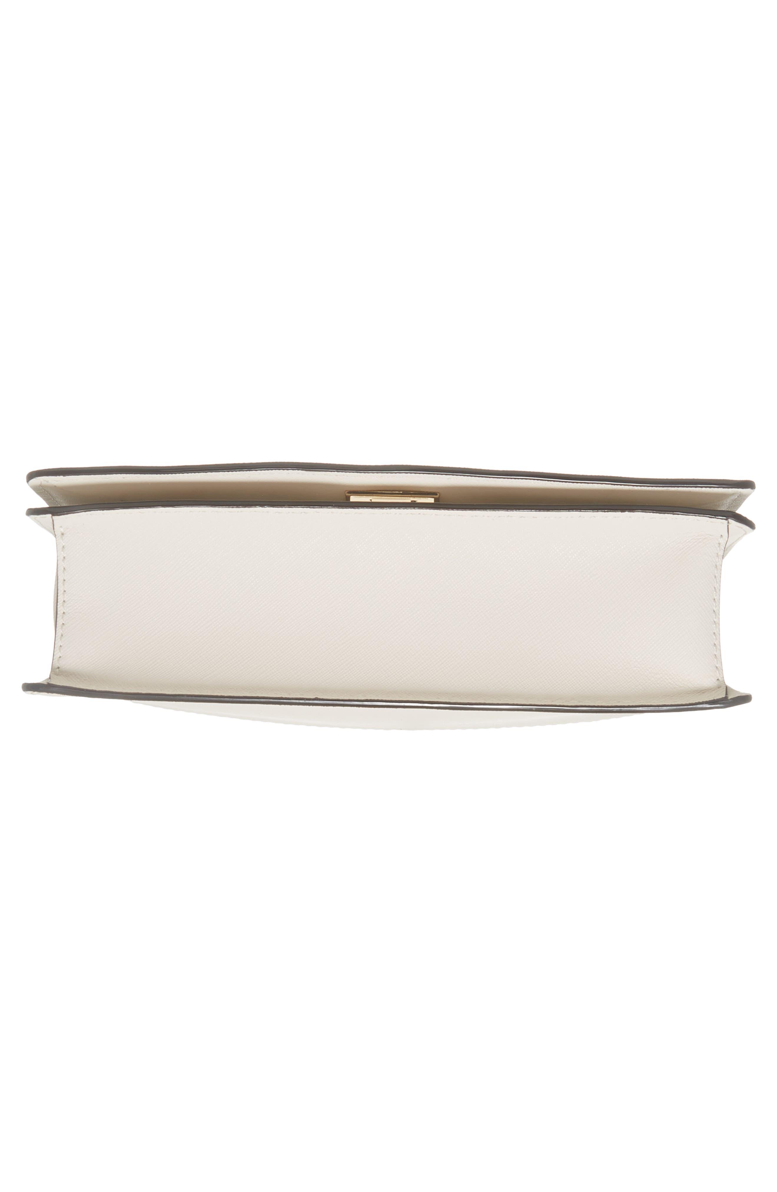 cameron street marci leather shoulder bag,                             Alternate thumbnail 5, color,                             Cement