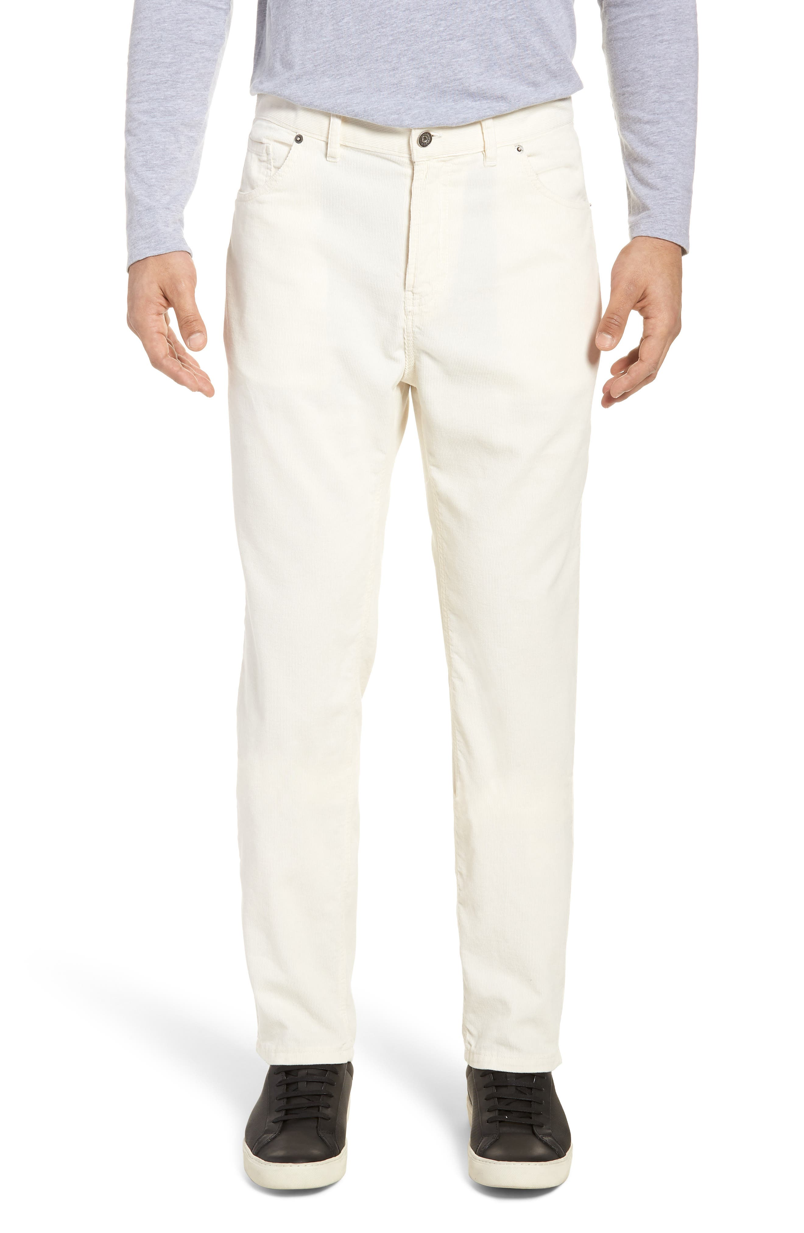 Q Cord Trousers,                         Main,                         color, Natural