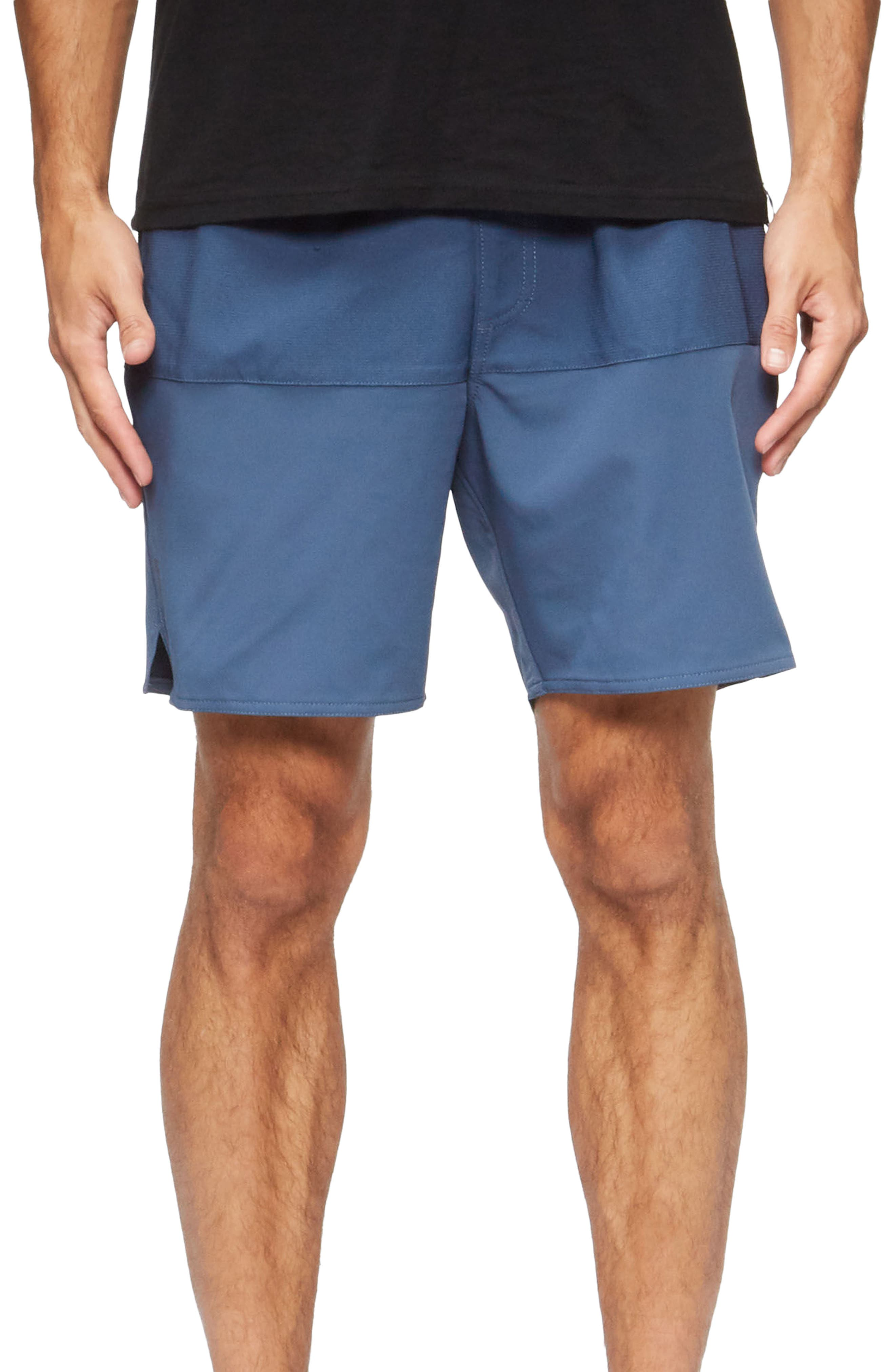 Lido Performance Shorts,                         Main,                         color, True Blue