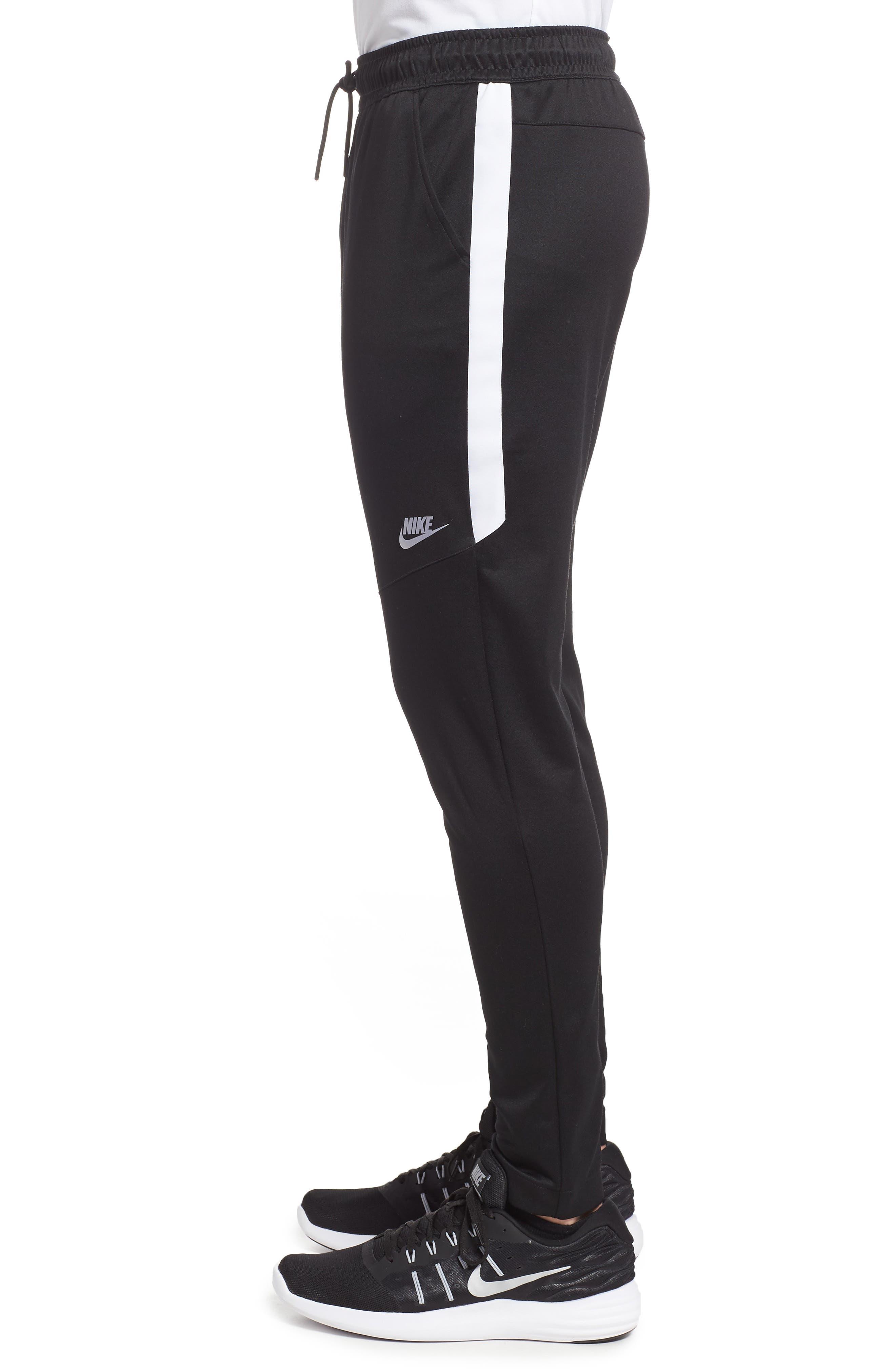 NSW Tribute Jogger Pants,                             Alternate thumbnail 3, color,                             Black/ White/ White