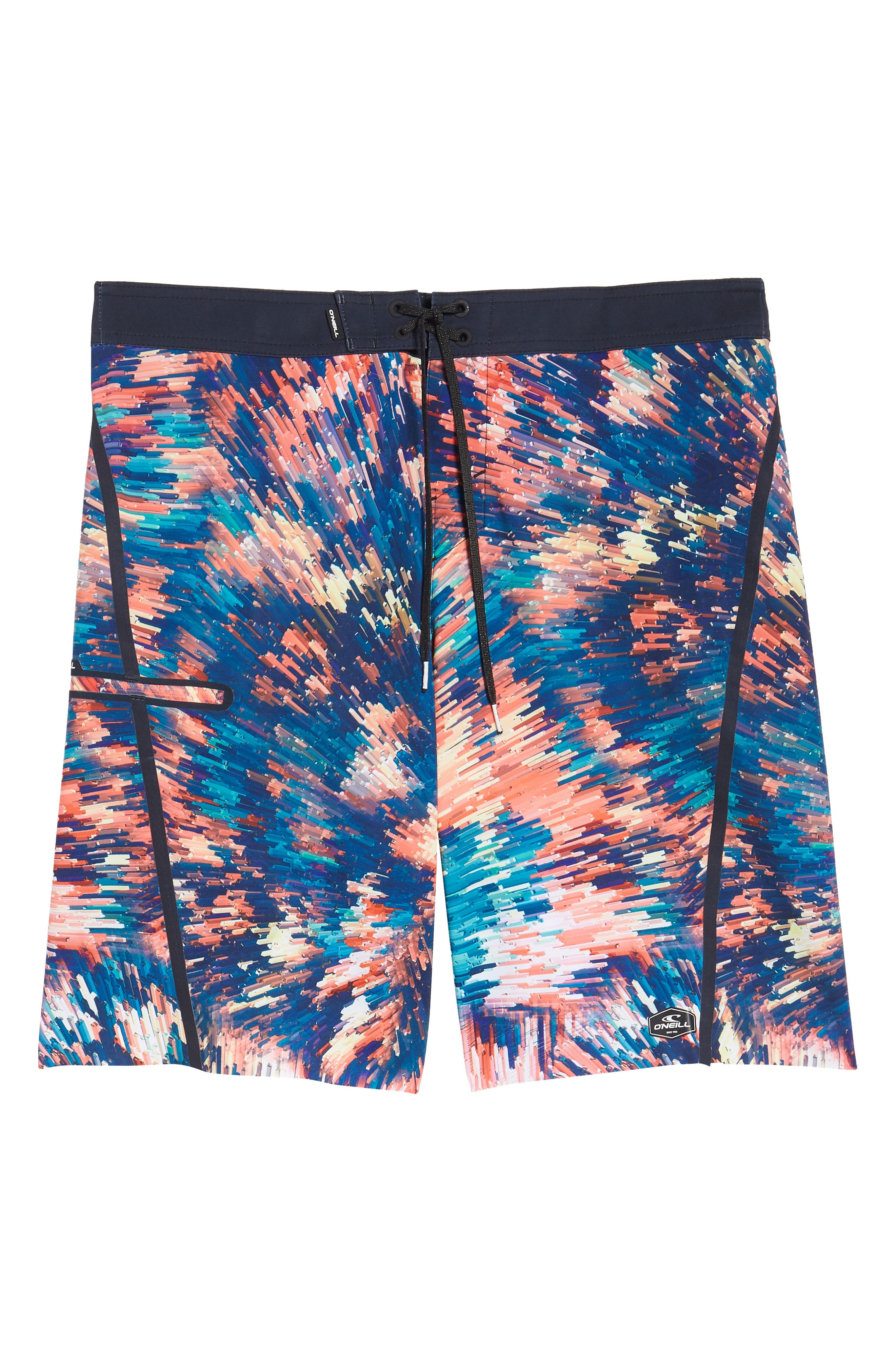 Hyperfreak Crystalize Board Shorts,                             Alternate thumbnail 4, color,                             Multi
