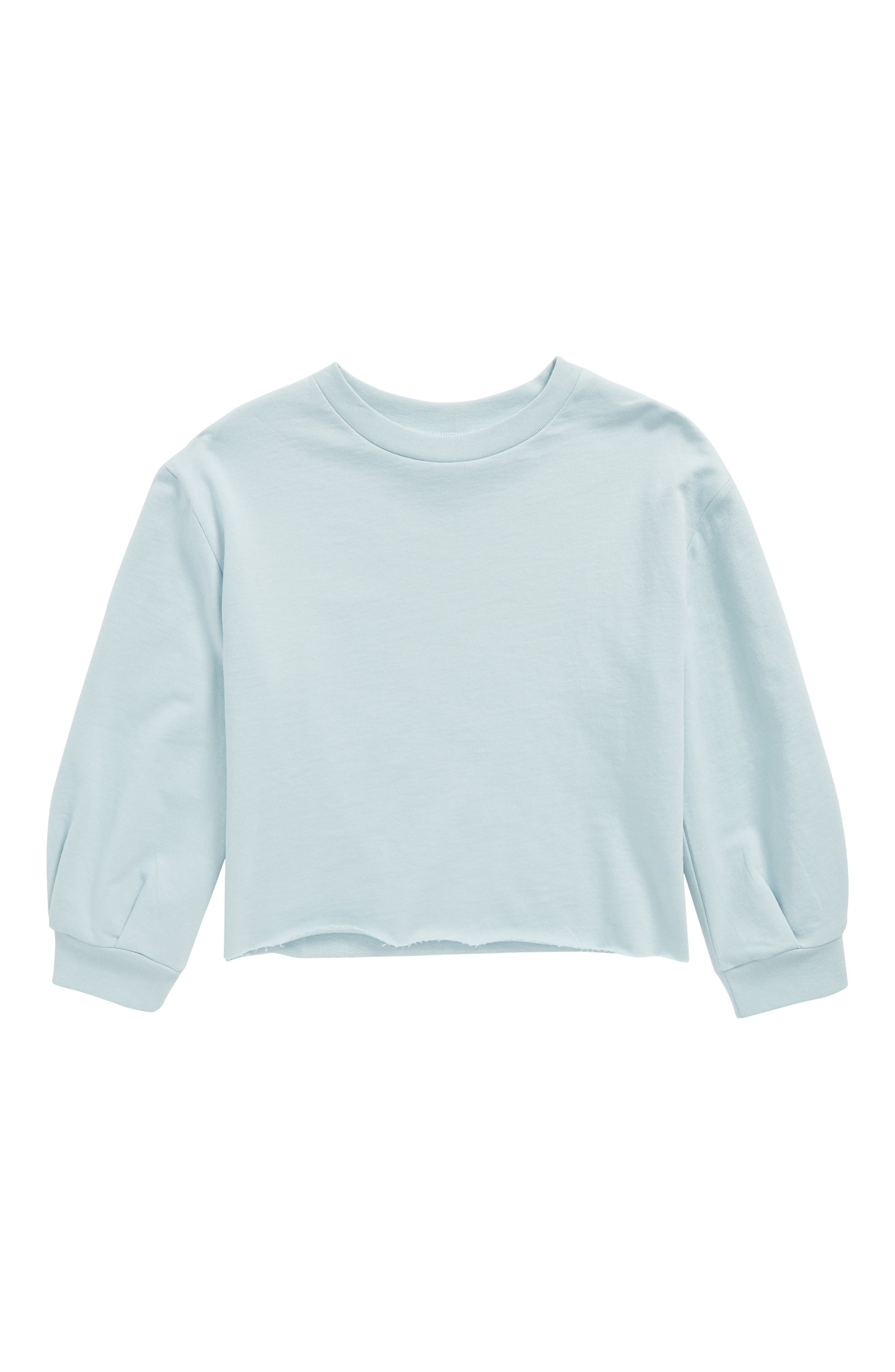 Stem Raw Edge Sweatshirt (Toddler GIrls, Little Girls & Big Girls)