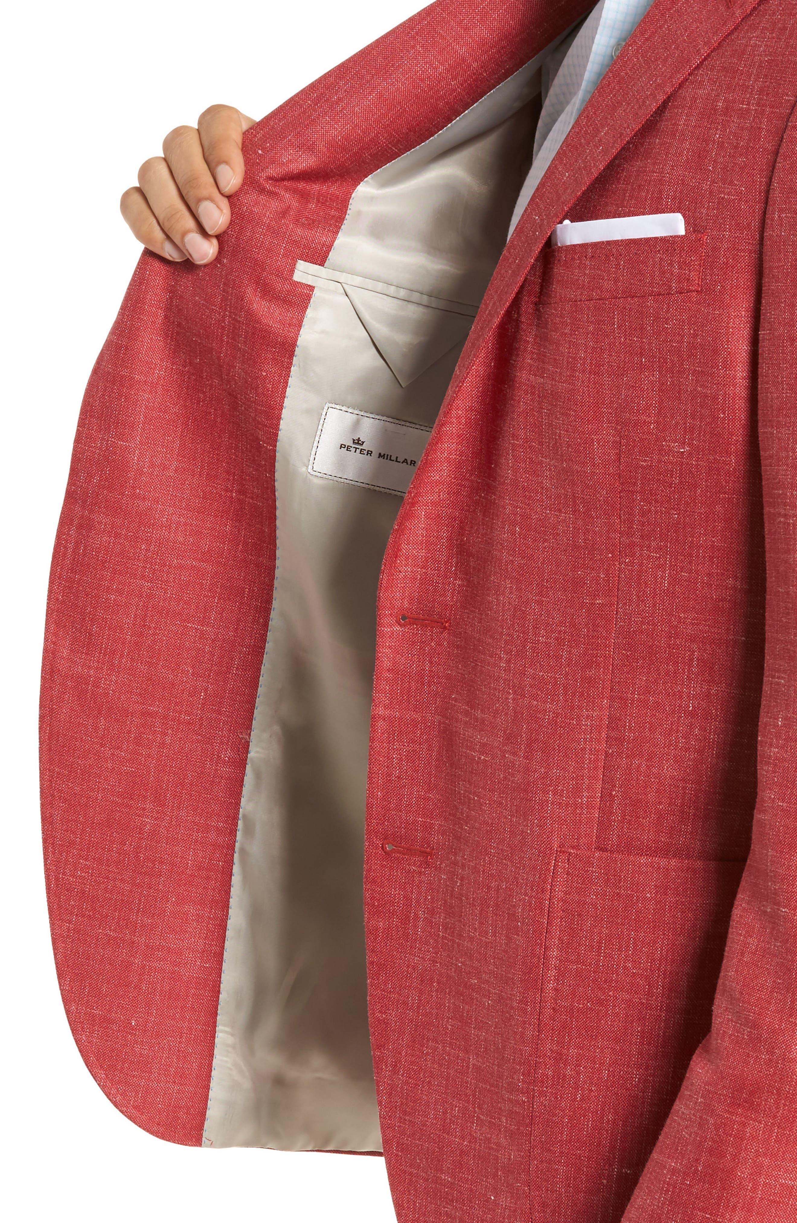 Alternate Image 4  - Peter Millar Classic Fit Wool Blend Blazer