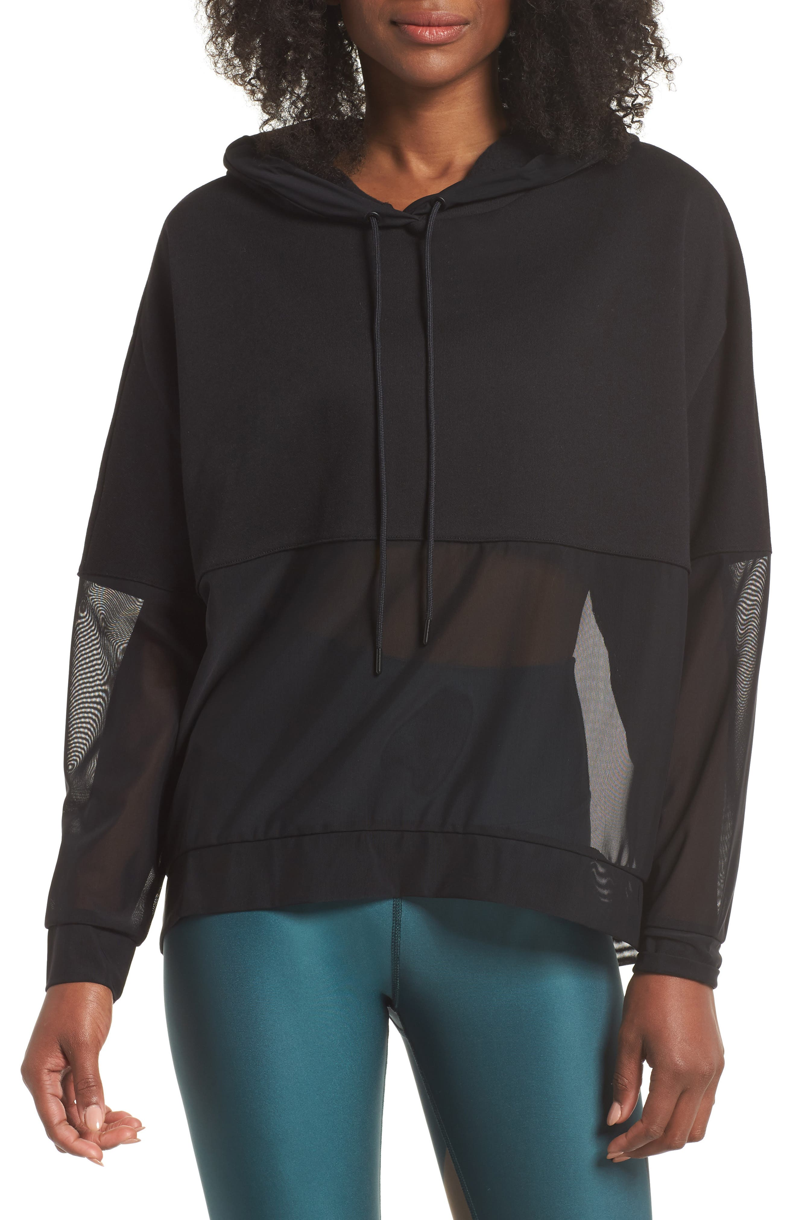 Perspective Hoodie,                         Main,                         color, Black