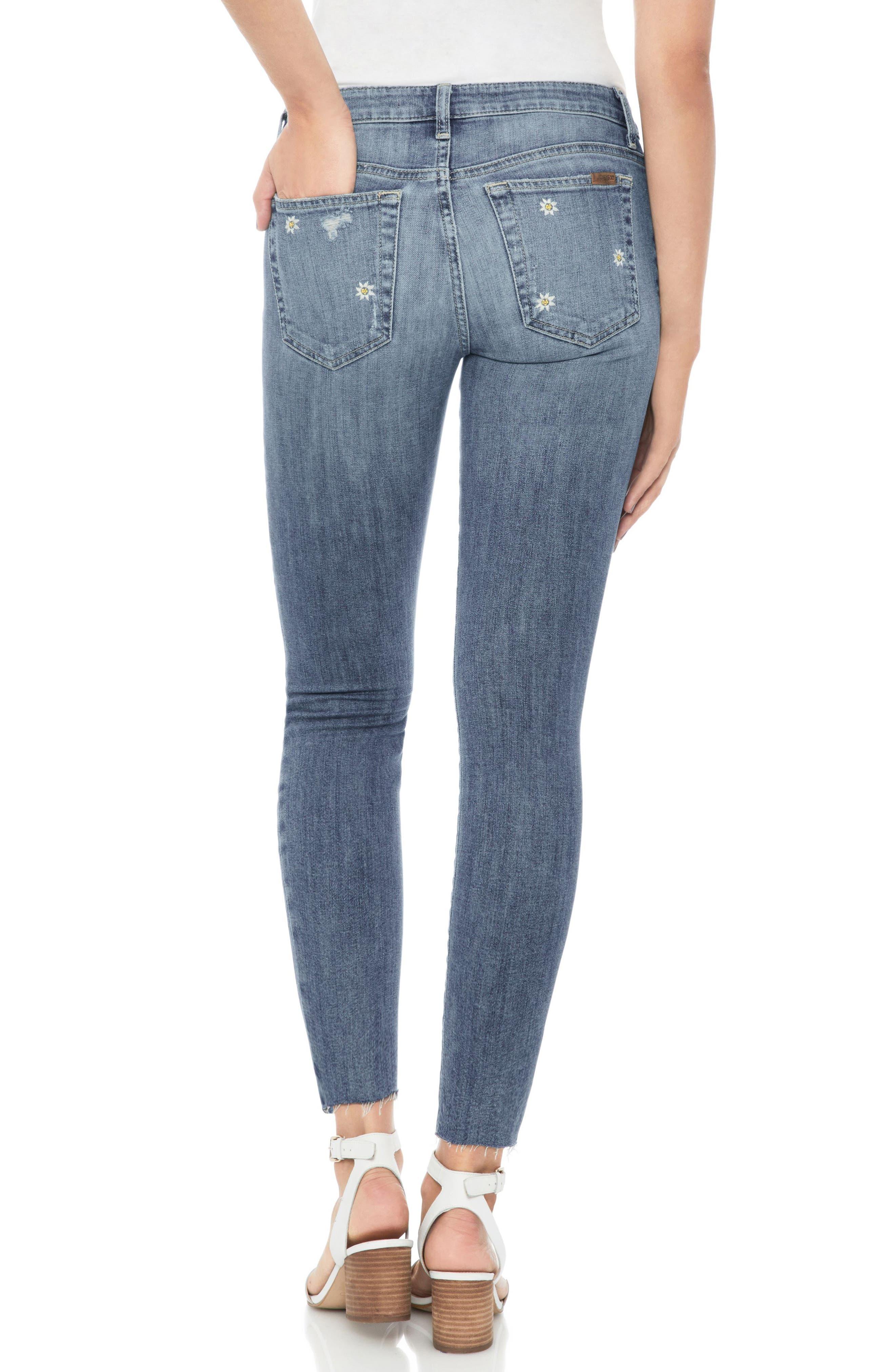 Icon Crop Skinny Jeans,                             Alternate thumbnail 2, color,                             Priscilla