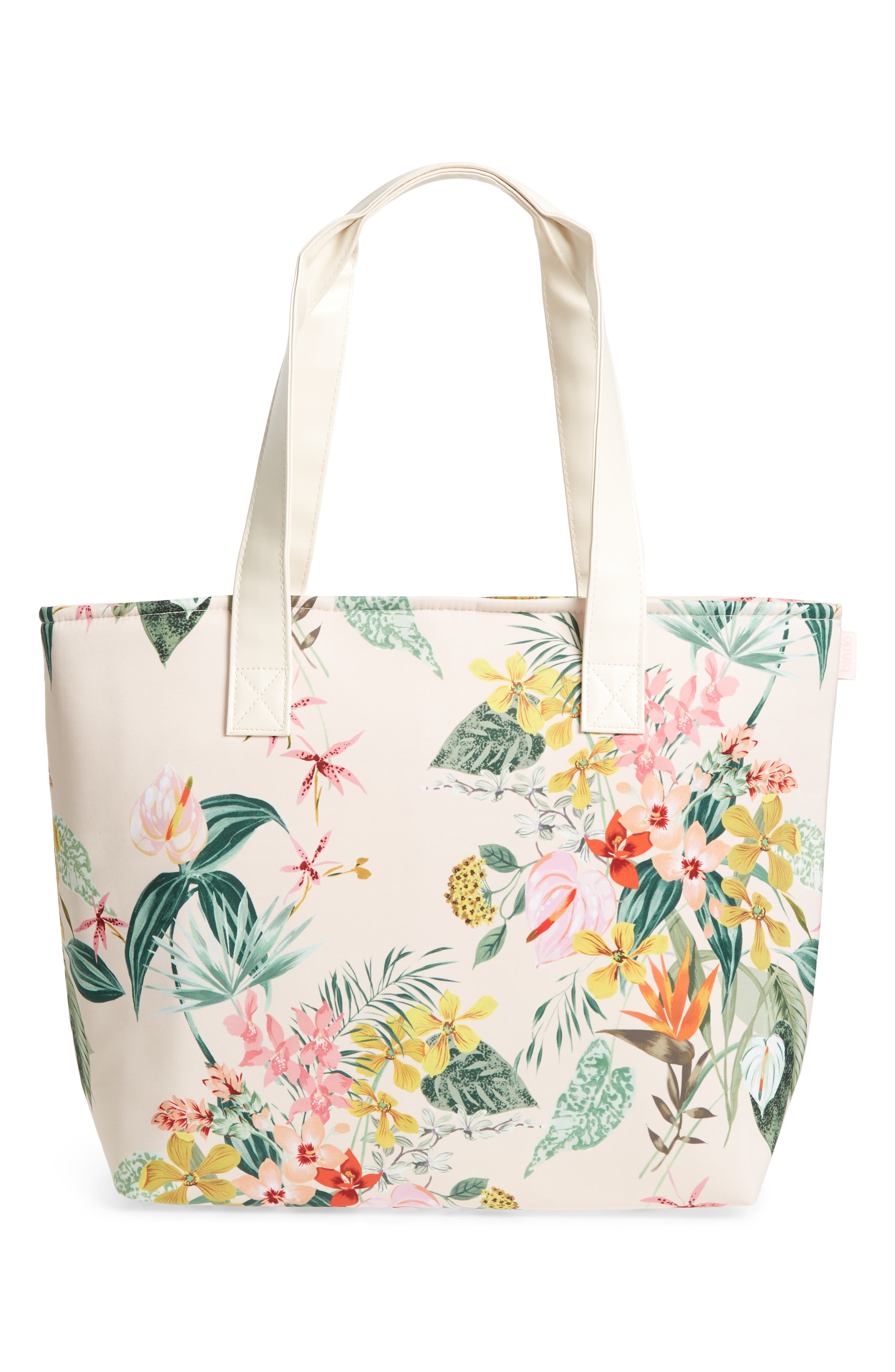 Paradiso Cooler Bag,                             Alternate thumbnail 3, color,                             Cream