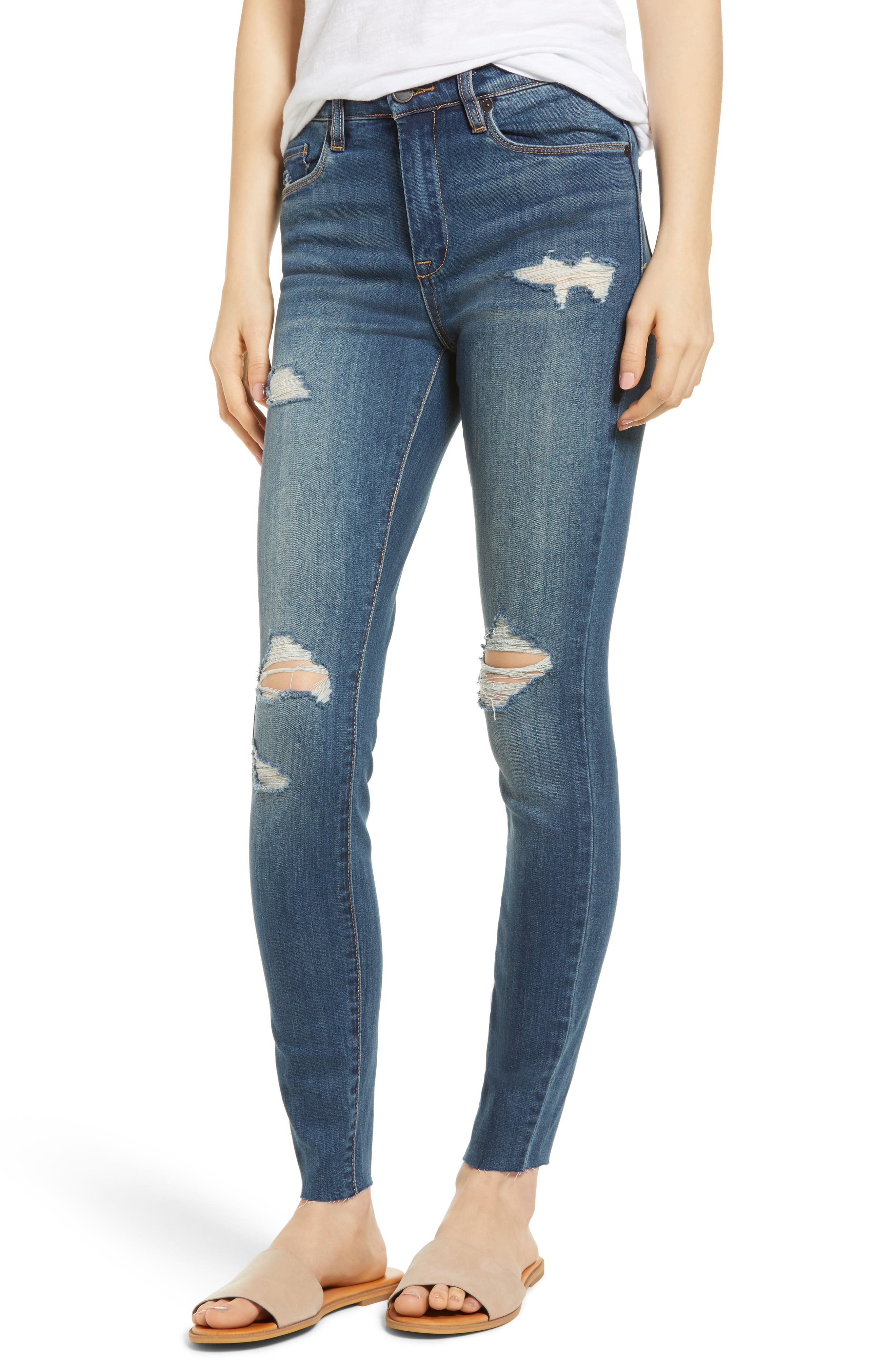 BLANKNYC The Bond Ripped Skinny Jeans (Alter Ego)