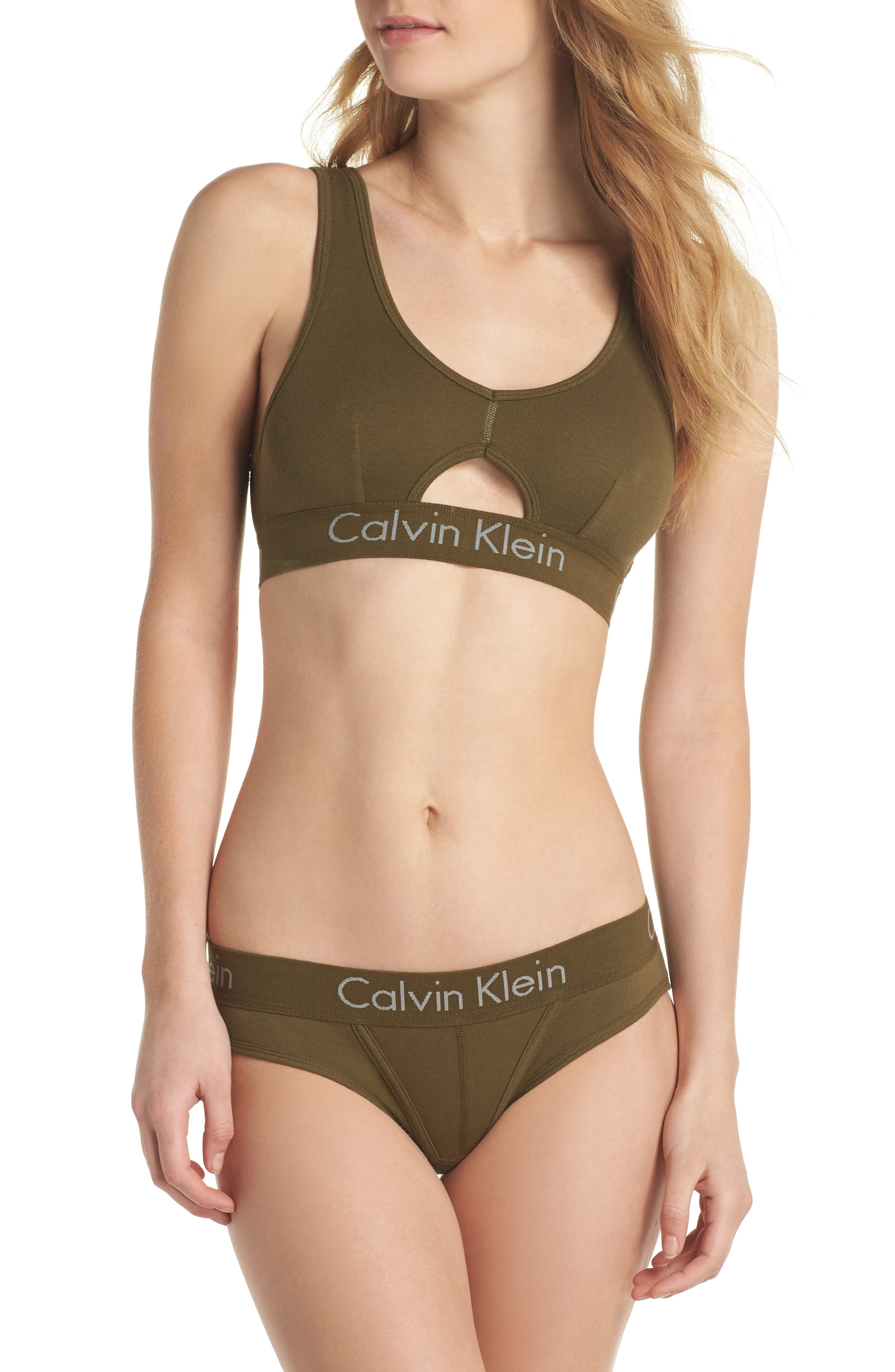 Alternate Image 5  - Calvin Klein Body Cotton Bikini