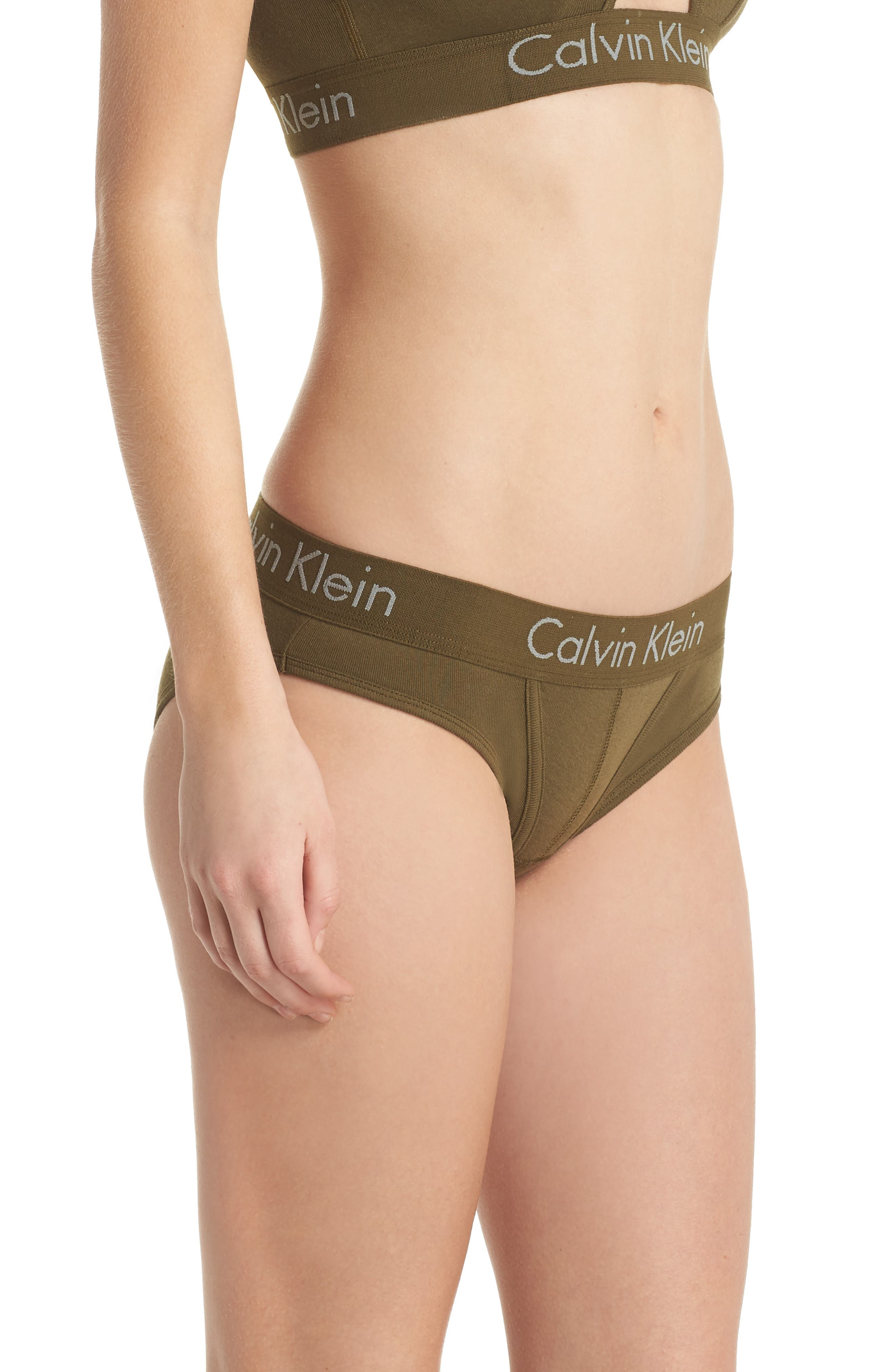 Alternate Image 3  - Calvin Klein Body Cotton Bikini