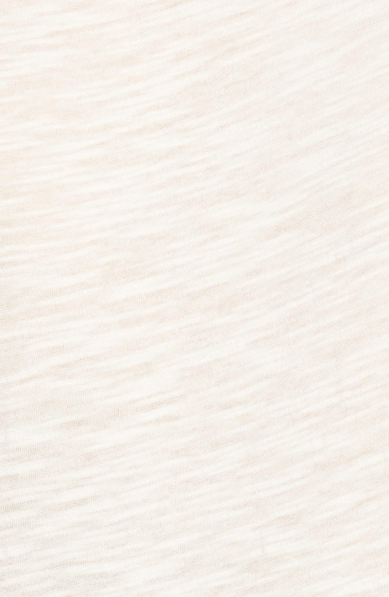 Mix Lace Knit Tank,                             Alternate thumbnail 6, color,                             Ivory- Black