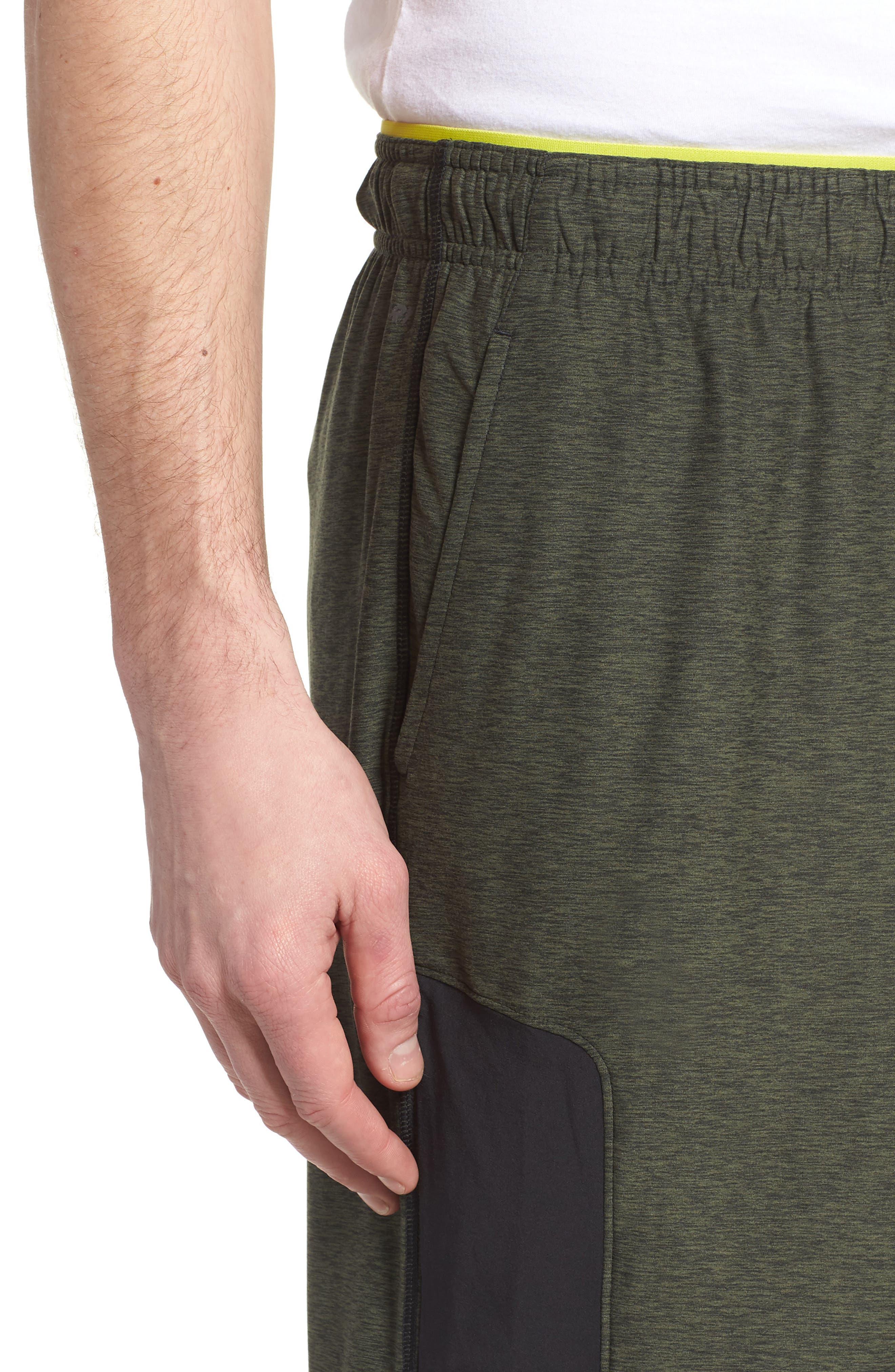 Anticipate Shorts,                             Alternate thumbnail 4, color,                             Dark Covert Green