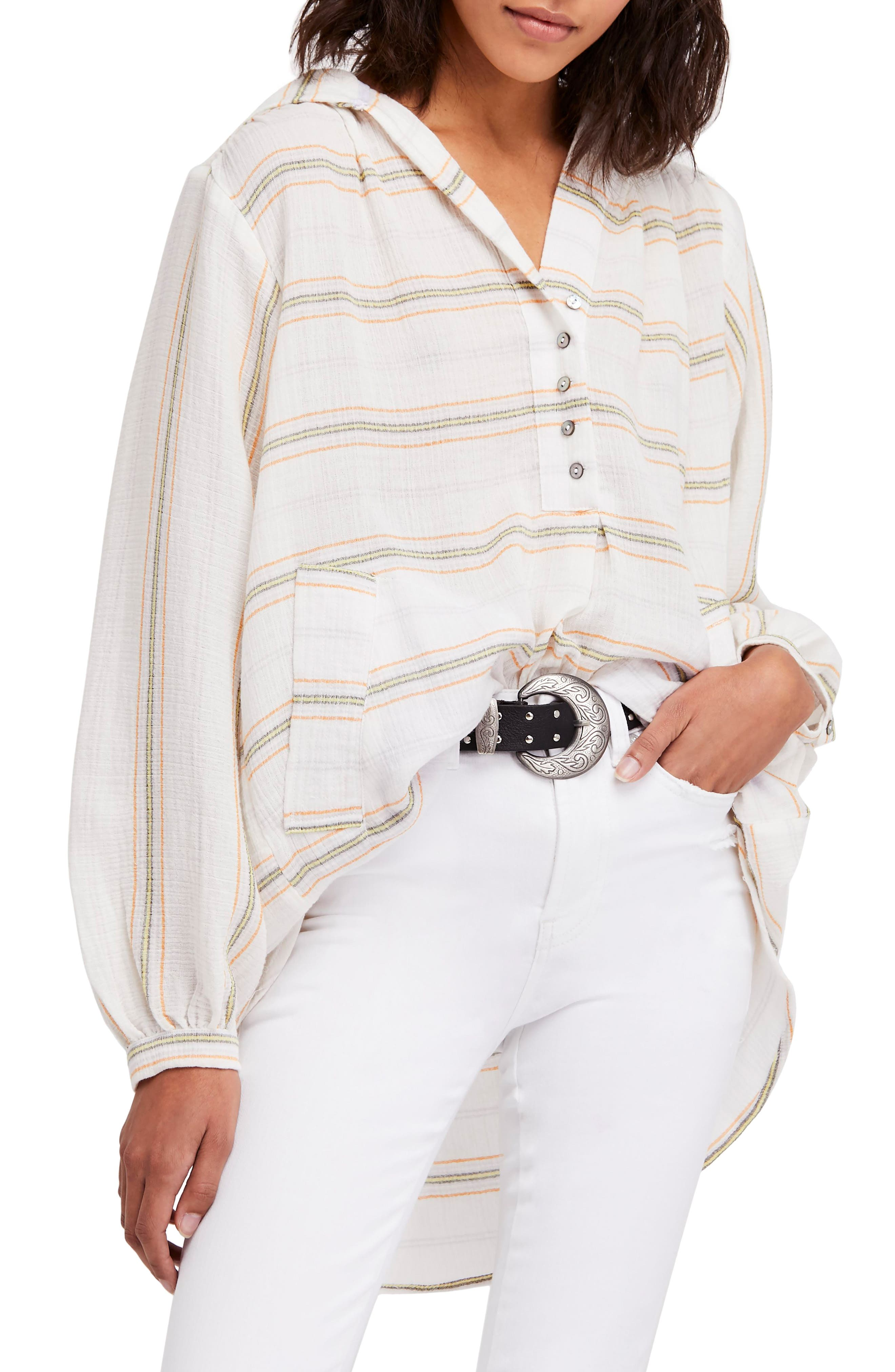Rolling Clouds Hooded Top,                         Main,                         color, Ivory