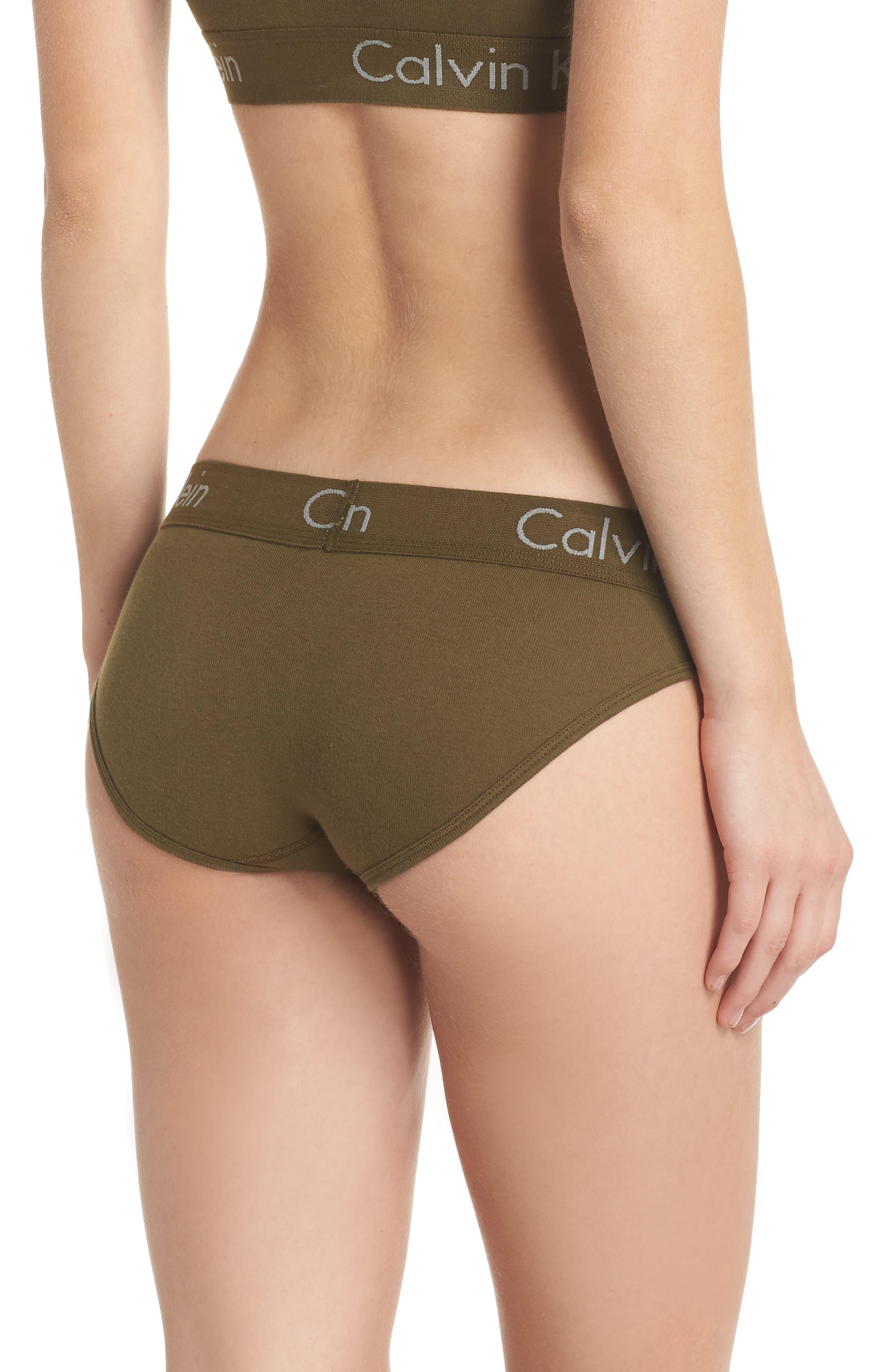 Alternate Image 2  - Calvin Klein Body Cotton Bikini