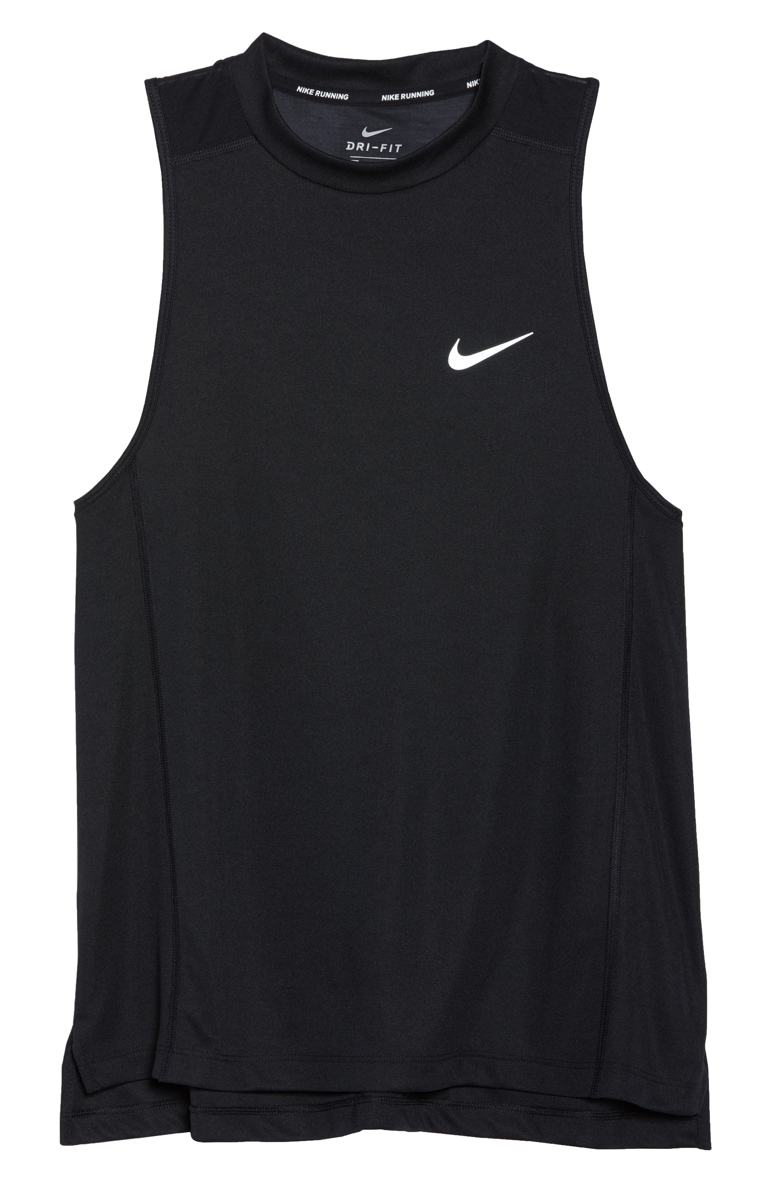 Dry Miler Tank,                             Alternate thumbnail 7, color,                             Black