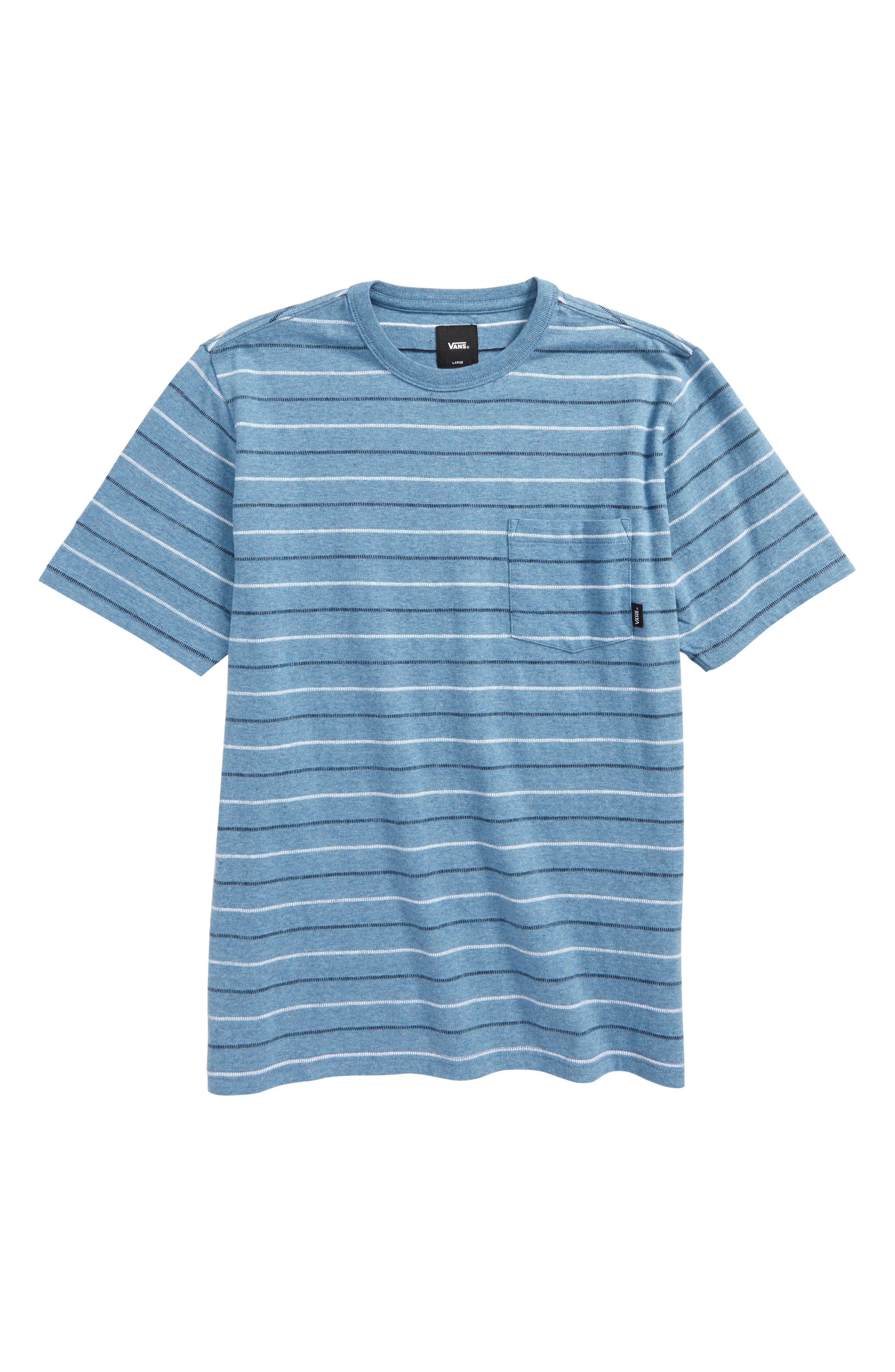 Strikemont III T-Shirt,                         Main,                         color, Copen Blue Heather