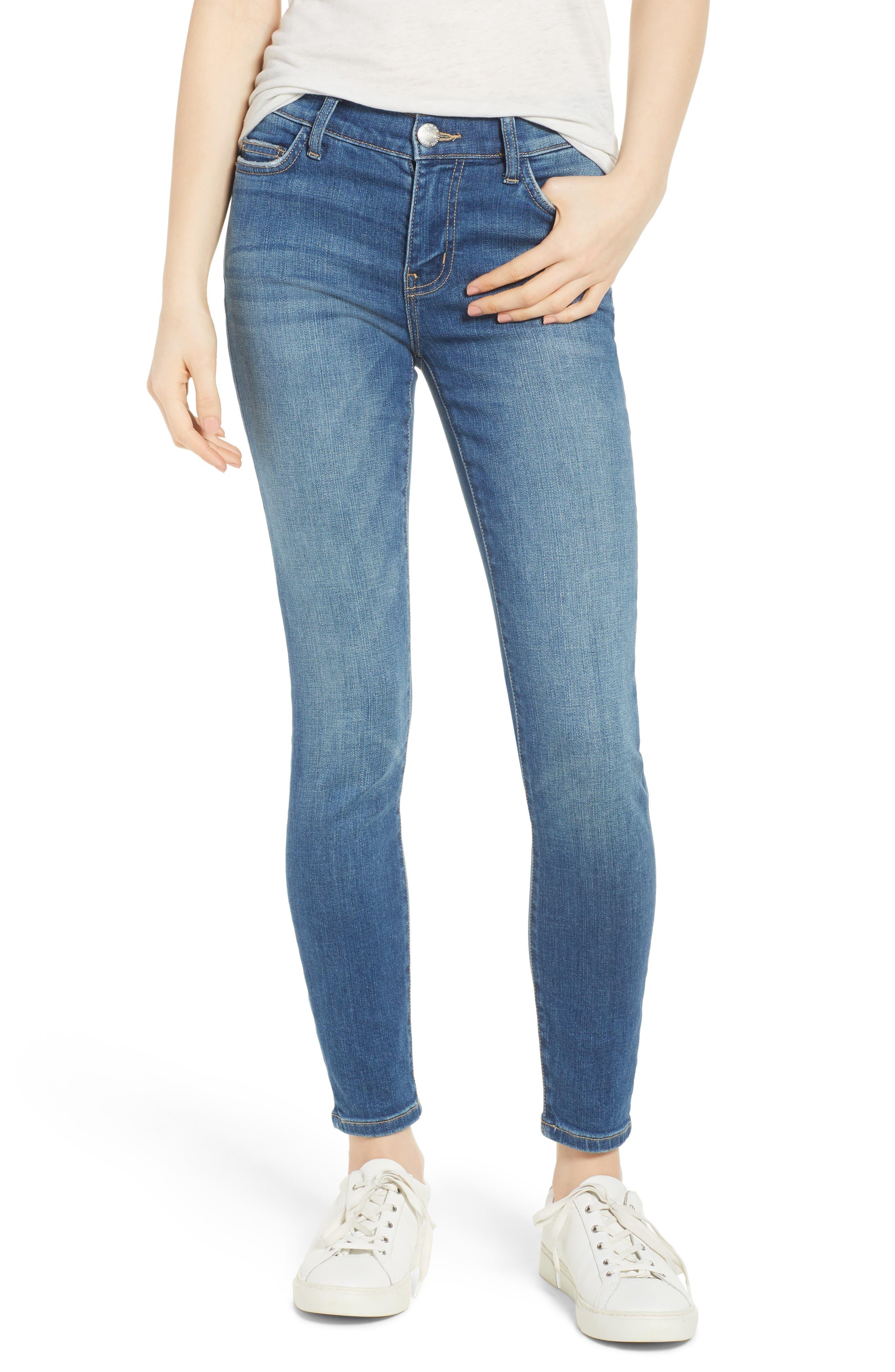 Current/Elliott The Stiletto Skinny Jeans (Joey Dark)