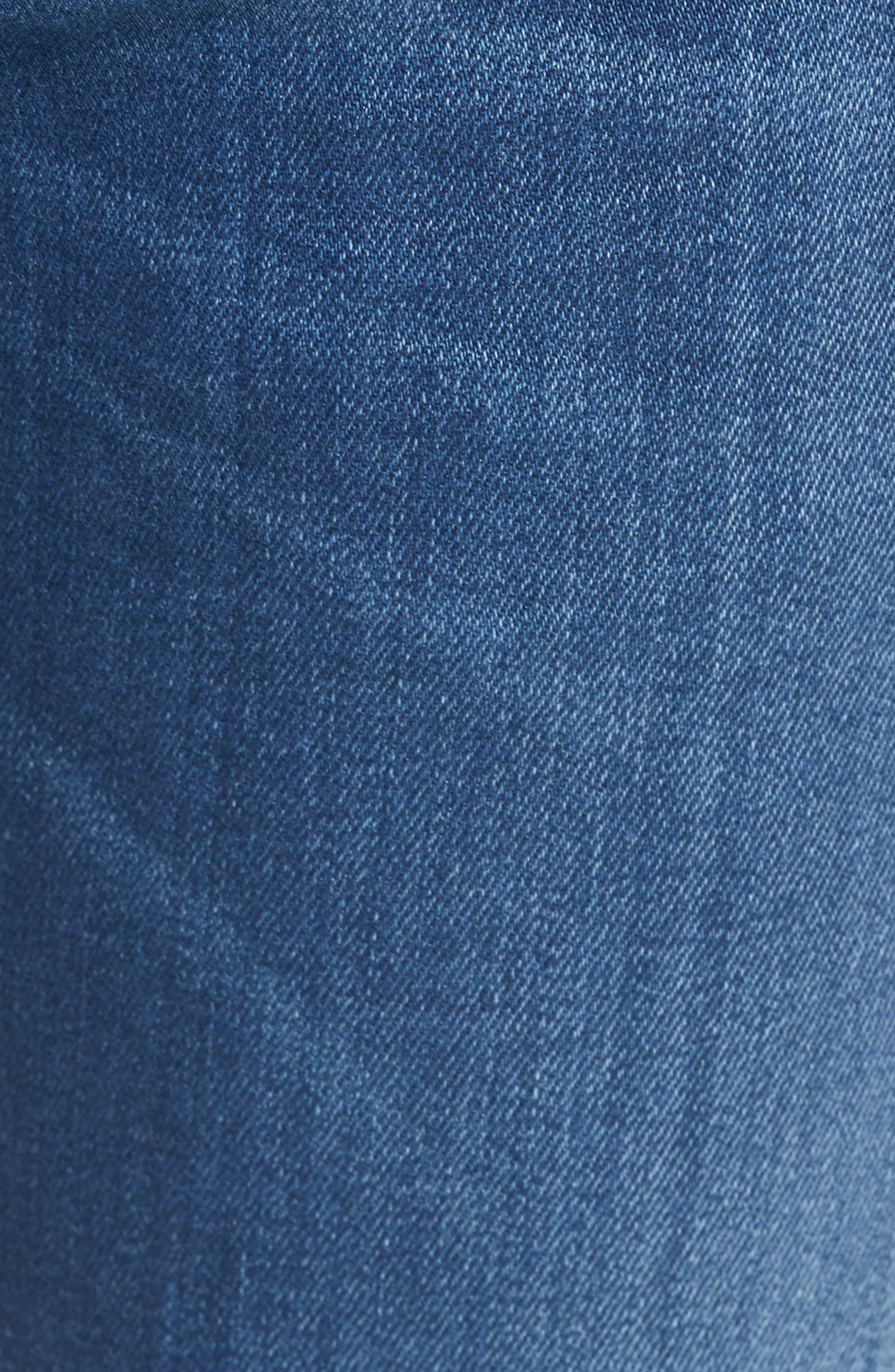 Zatiny Bootcut Jeans,                             Alternate thumbnail 5, color,                             Denim