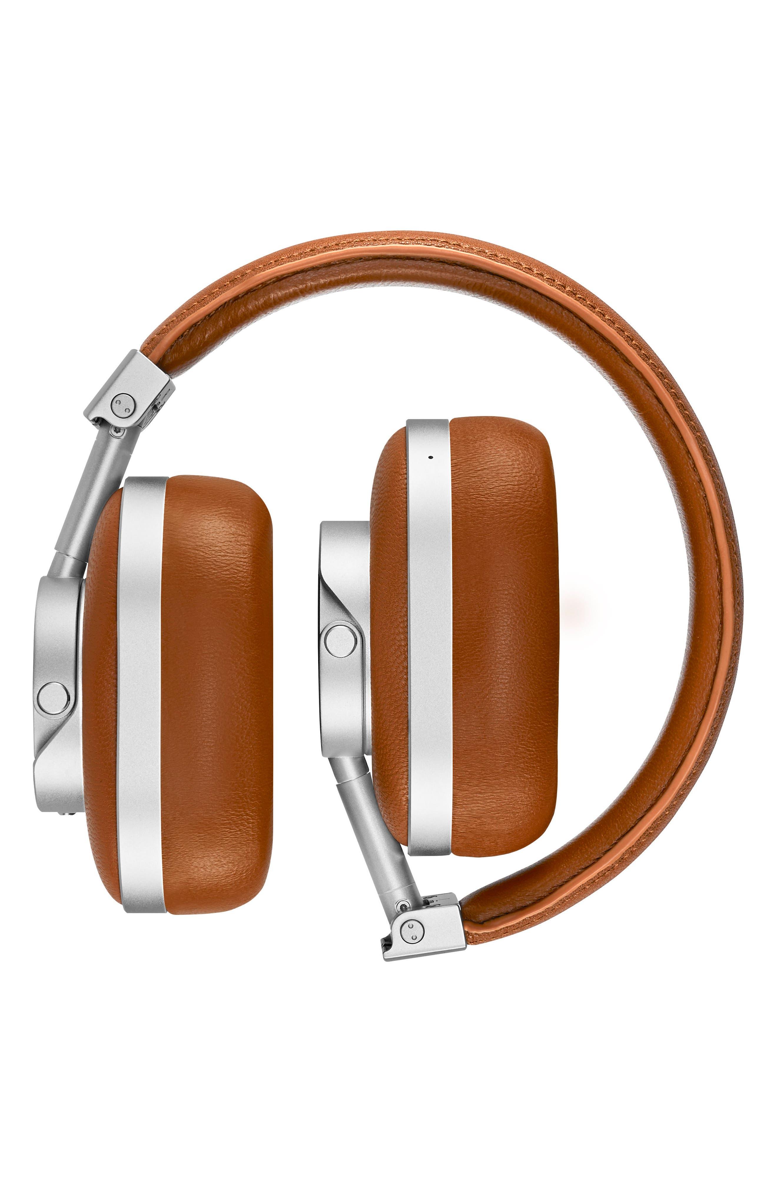Alternate Image 2  - Master & Dynamic MW60 Wireless Leather Over Ear Headphones
