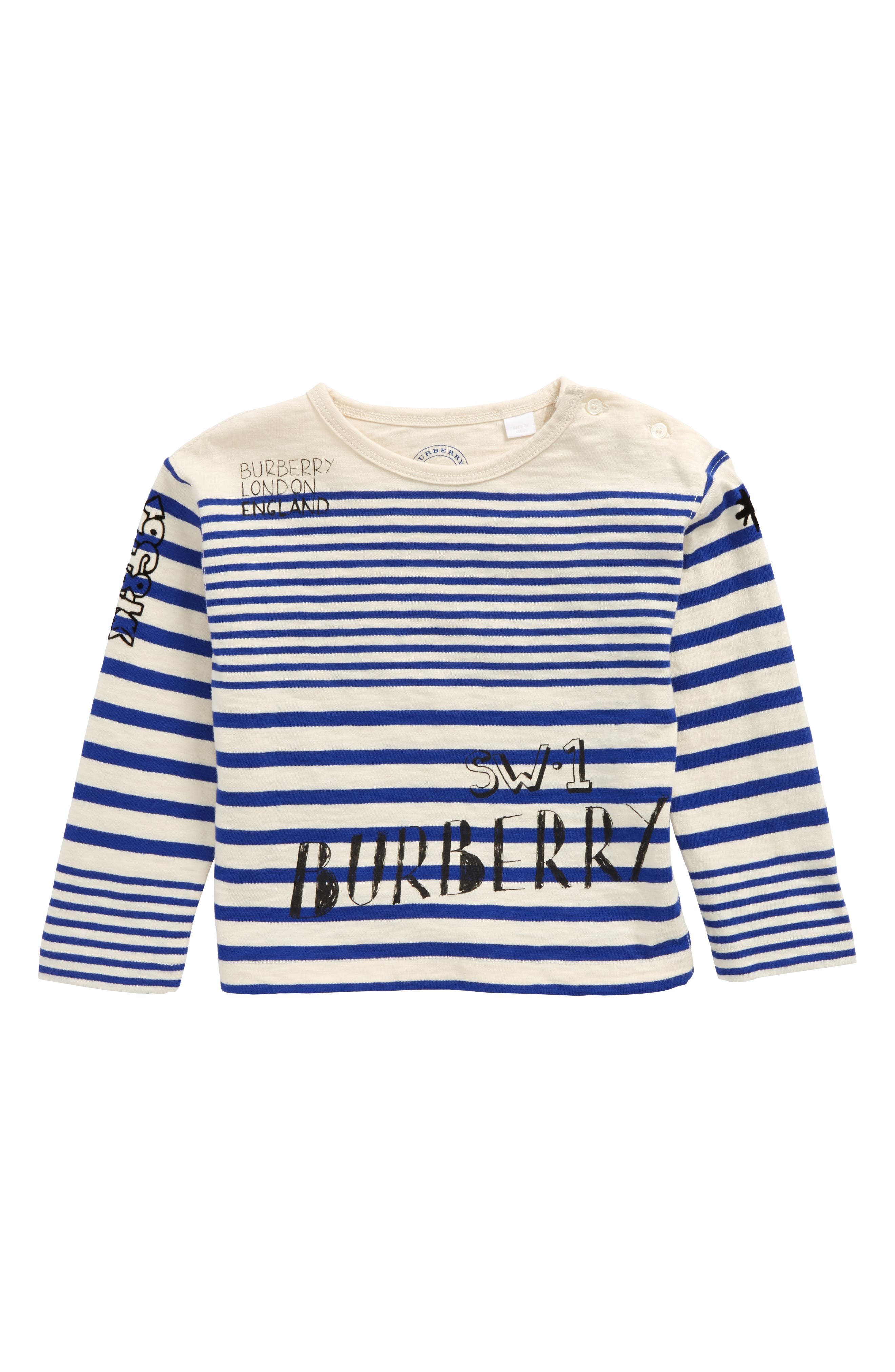 Burberry Stripe T-Shirt (Baby Boys)
