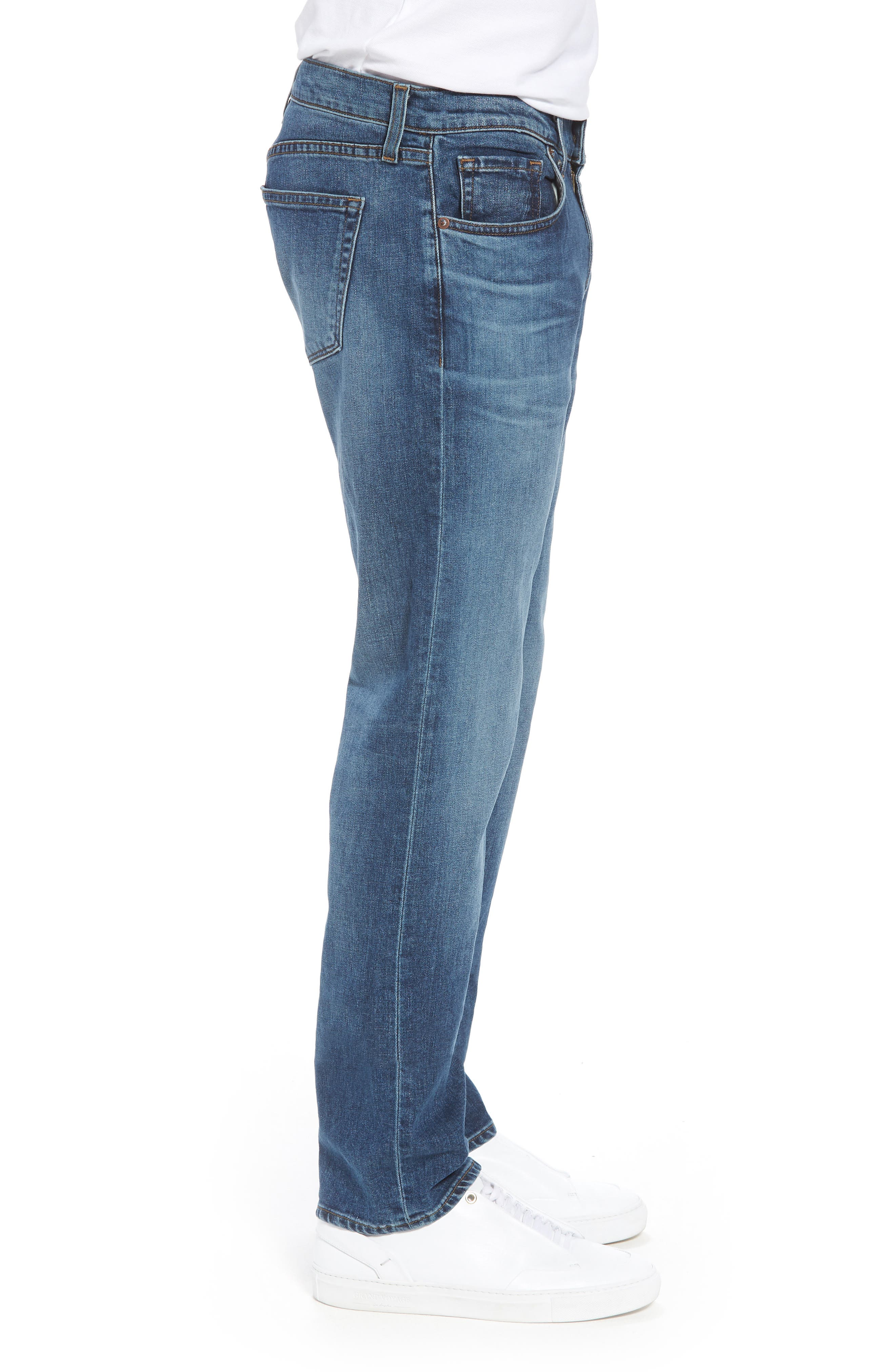 Kane Slim Straight Leg Jeans,                             Alternate thumbnail 3, color,                             Barva