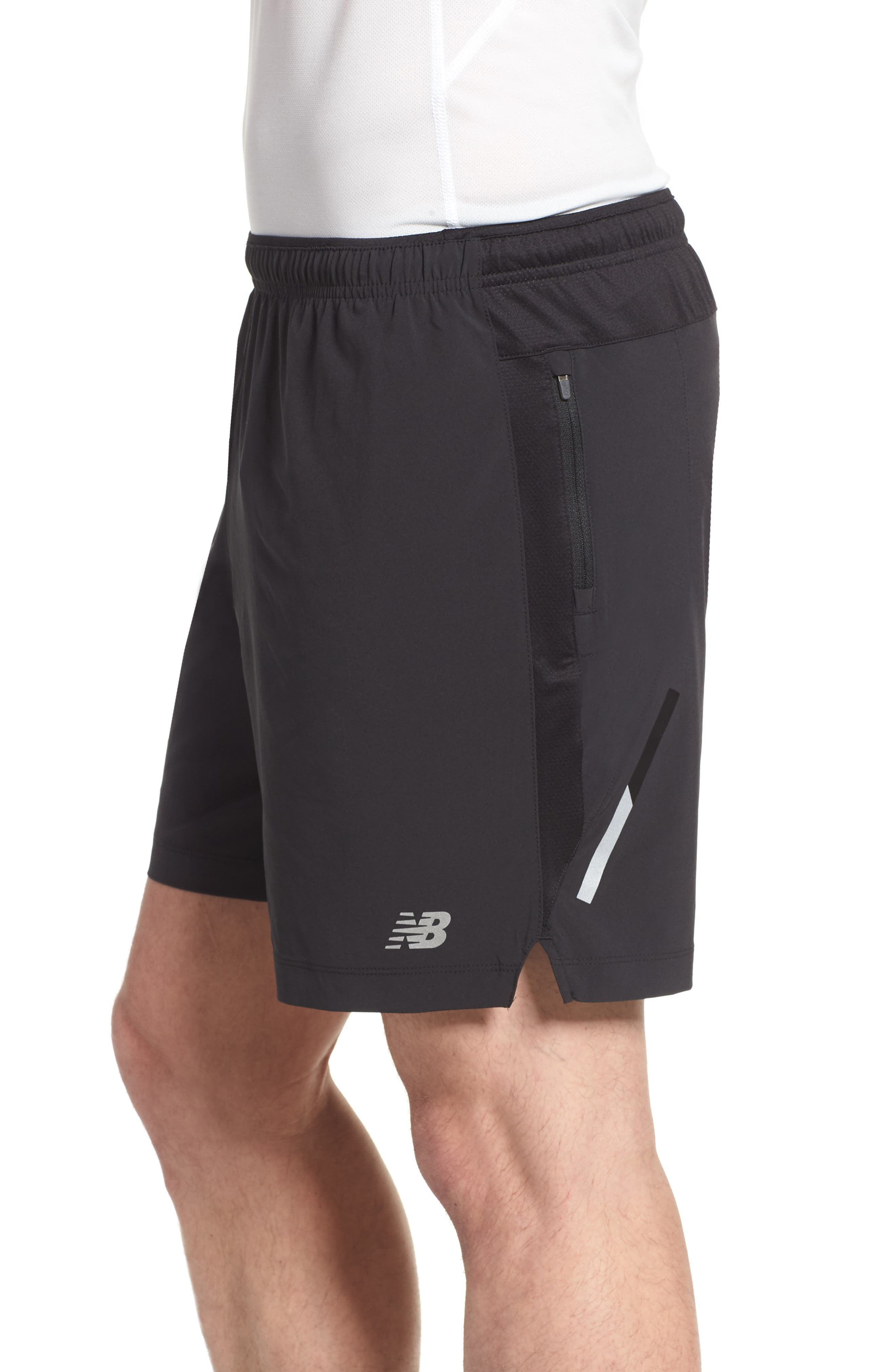 Impact Shorts,                             Alternate thumbnail 4, color,                             Black