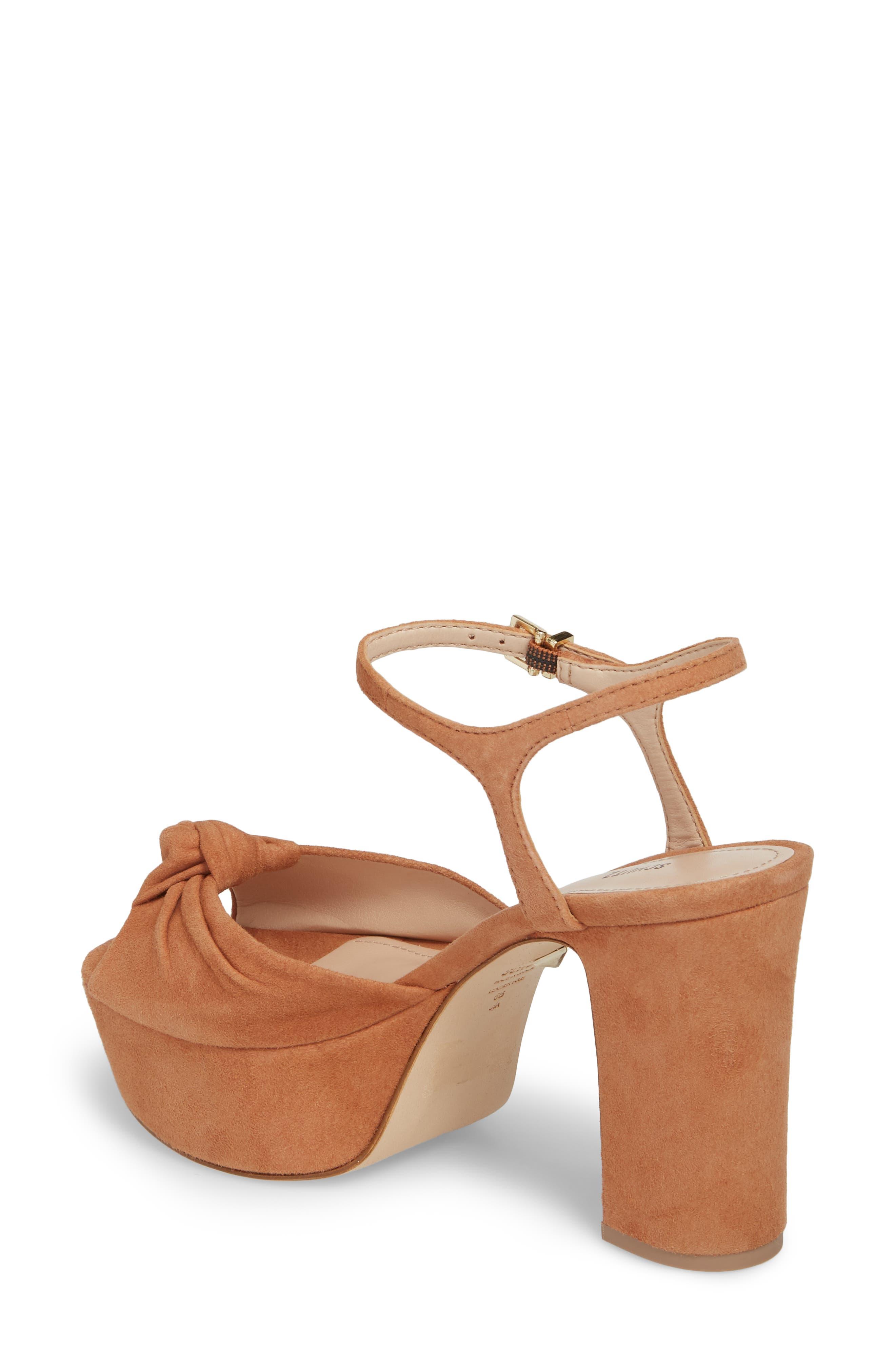 Thalyta Platform Sandal,                             Alternate thumbnail 2, color,                             Toasted Nut