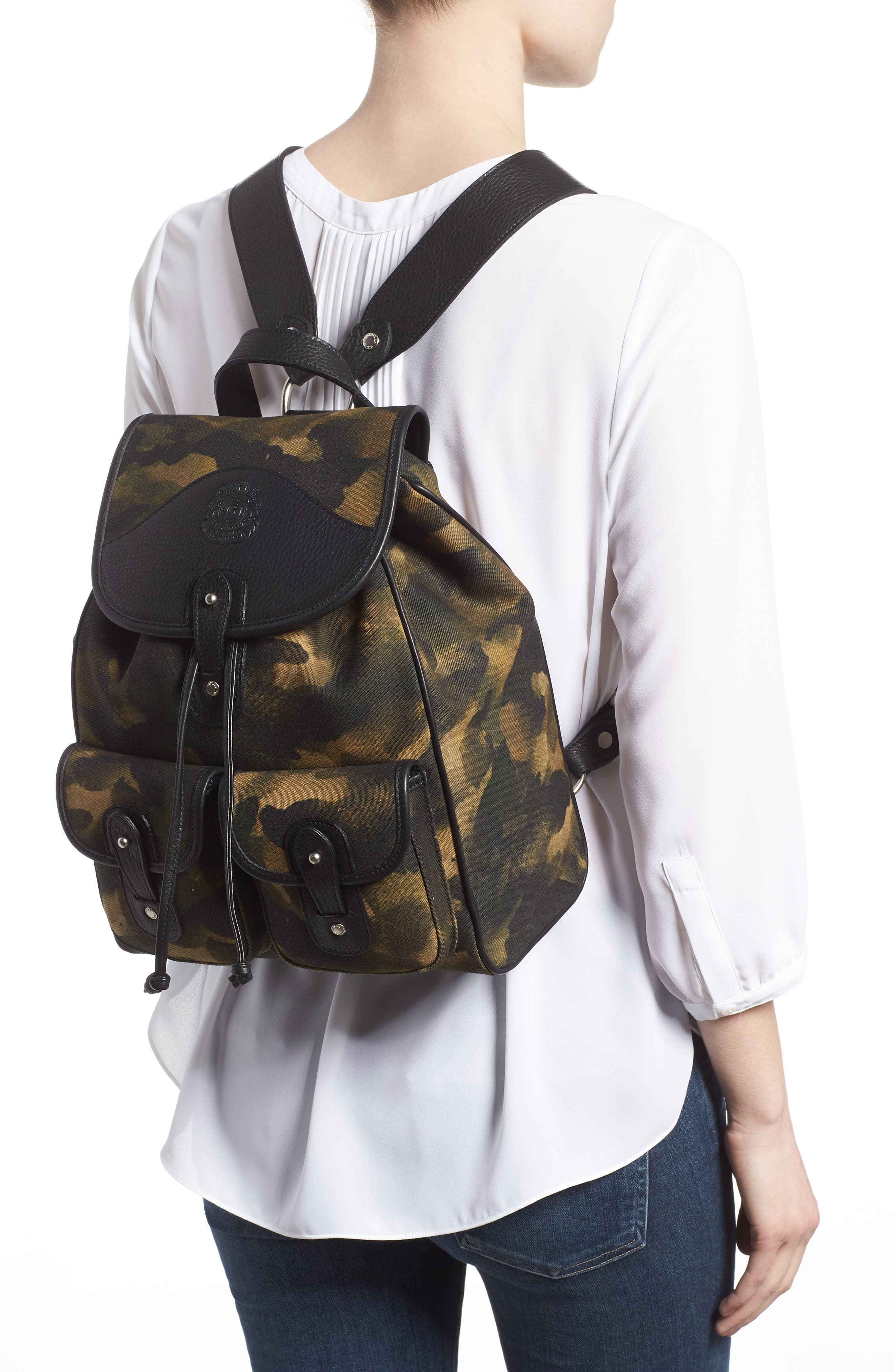 Blazer Canvas Backpack,                             Alternate thumbnail 2, color,                             Camo Solid
