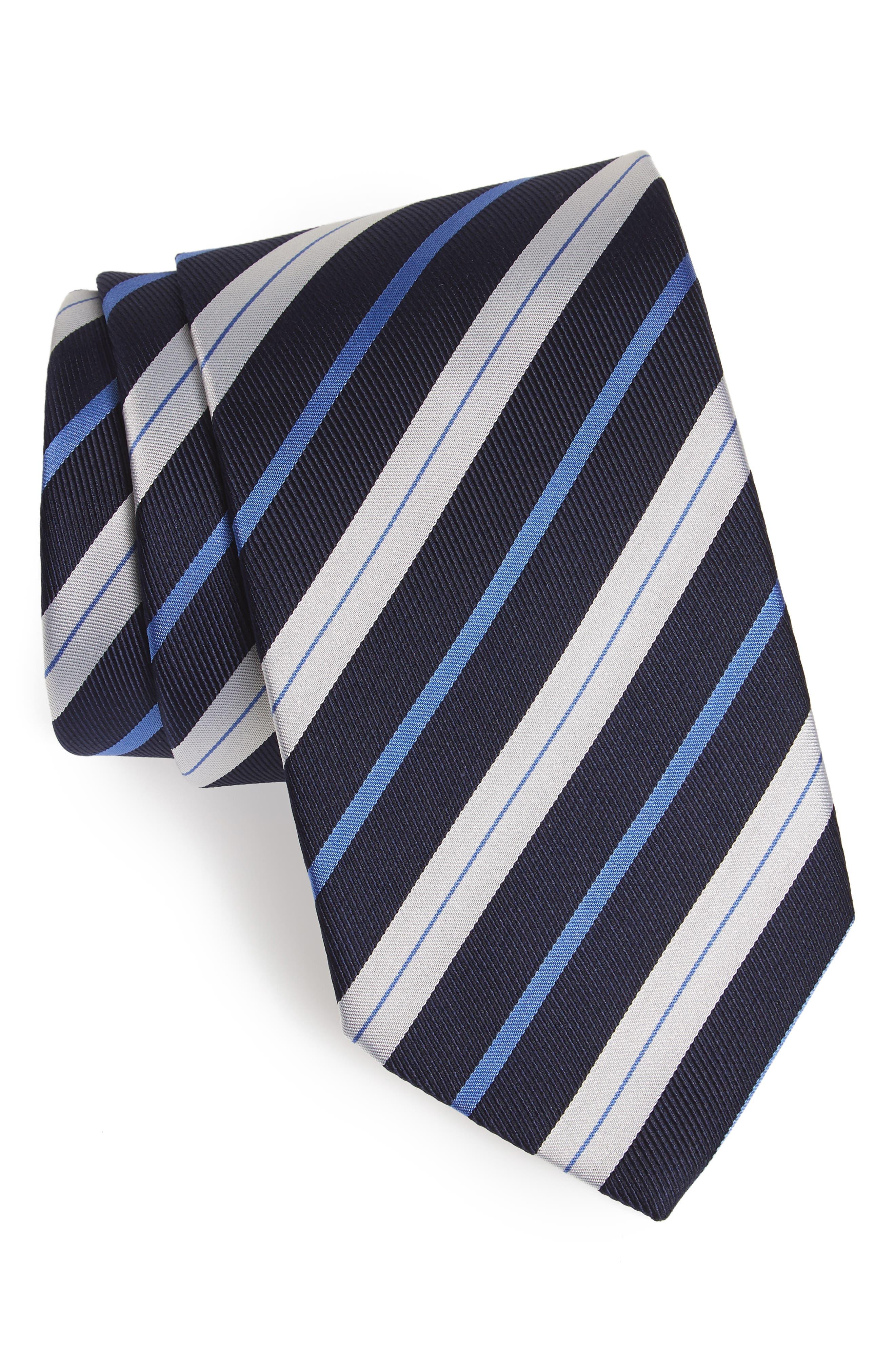 Eton Stripe Silk Tie