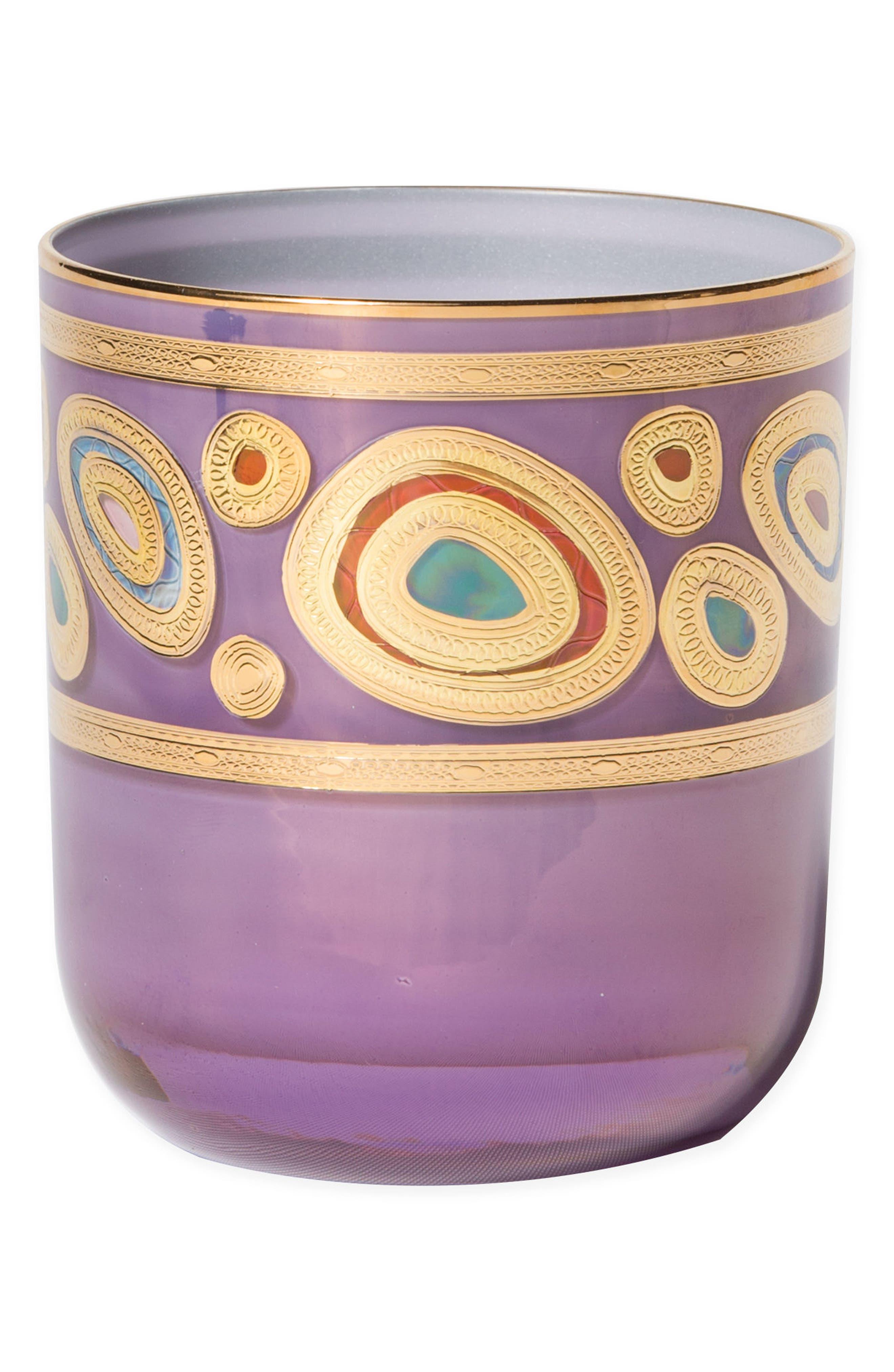 VIETRI Regalia Double Old-Fashioned Glass