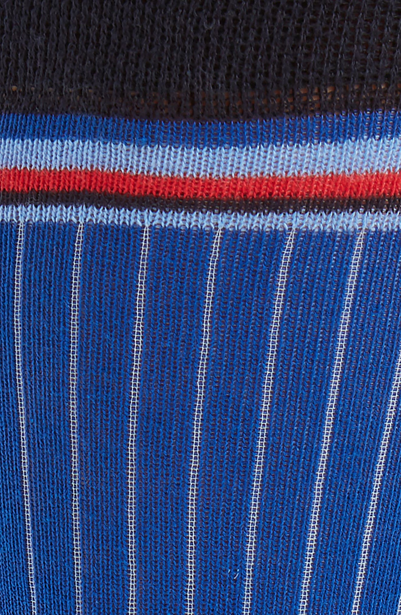 Pegbra Stripe Socks,                             Alternate thumbnail 2, color,                             Blue
