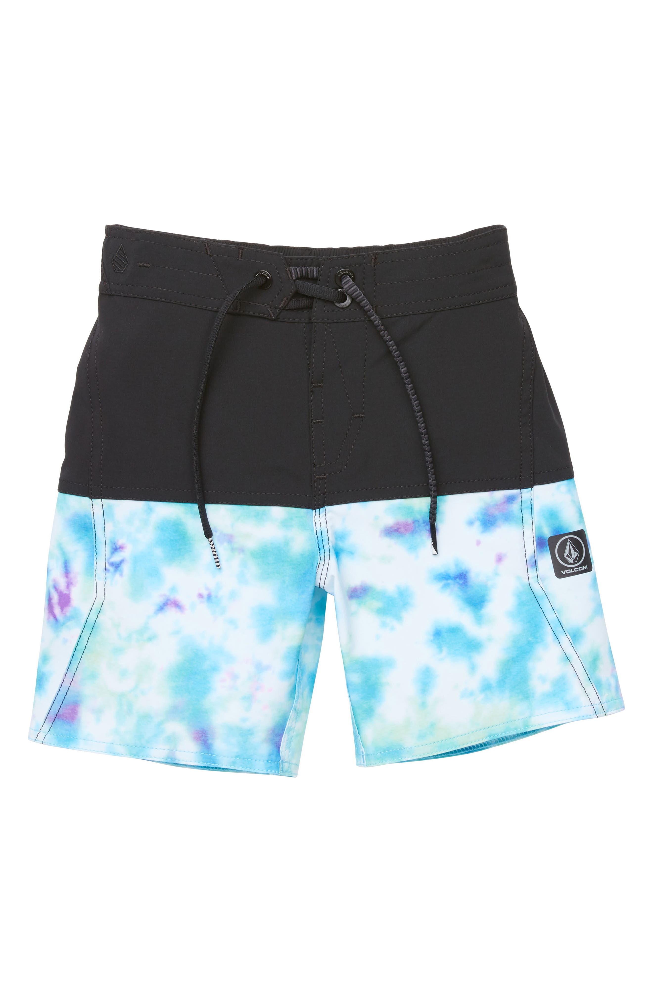 Vibes Board Shorts,                             Main thumbnail 1, color,                             Black Combo