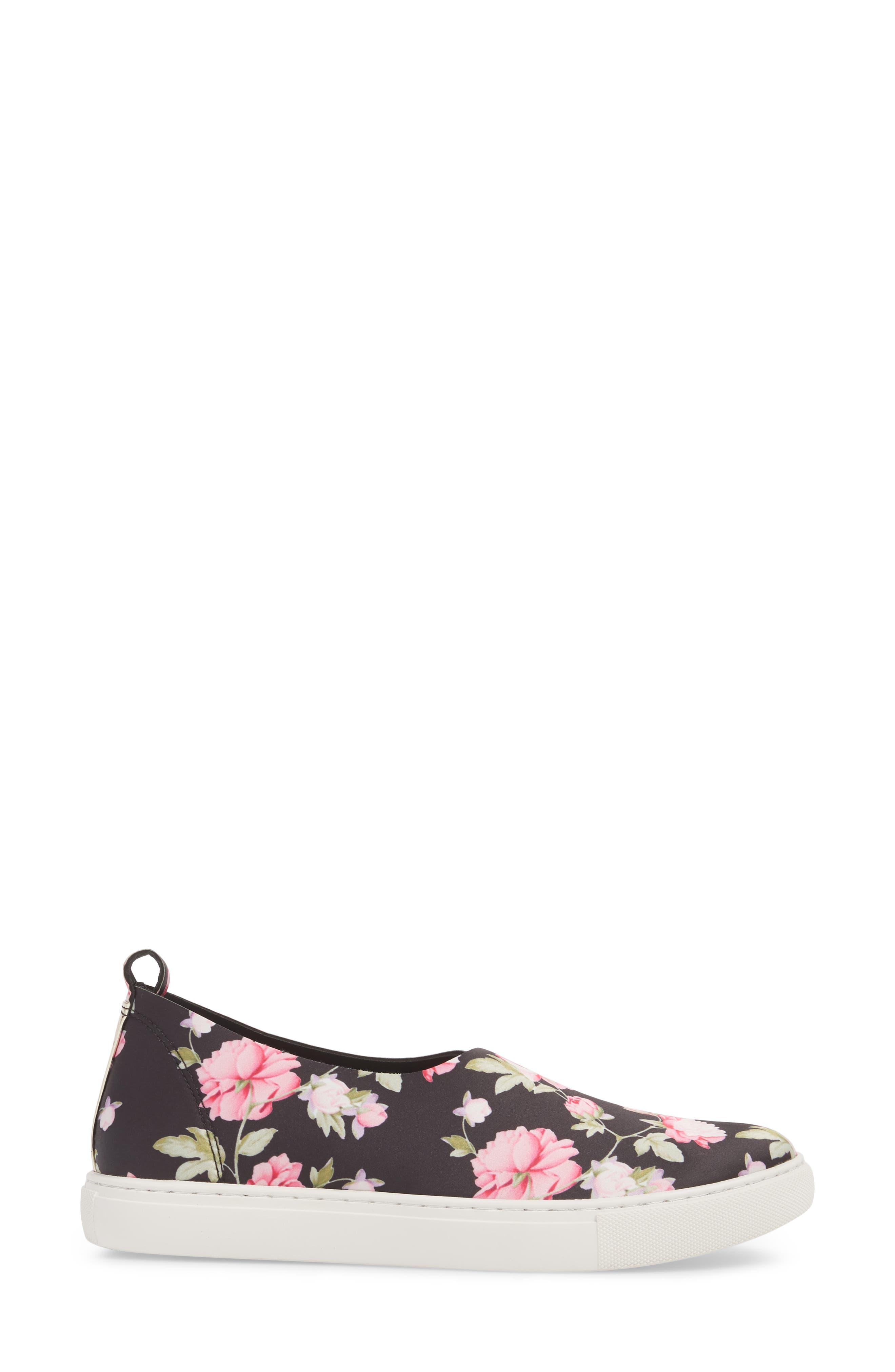 Kathy Slip-On Sneaker,                             Alternate thumbnail 3, color,                             Pink Multi
