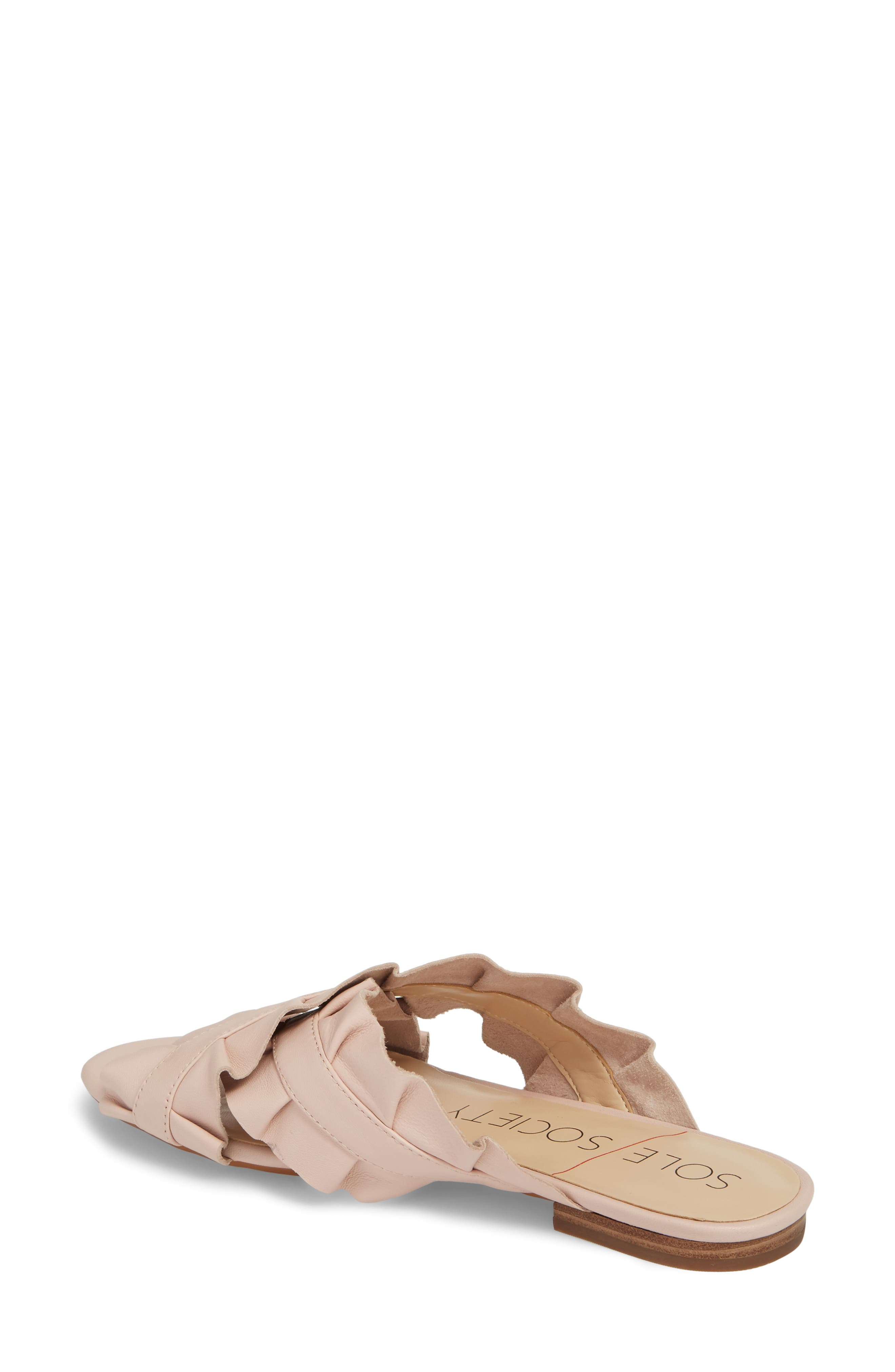 Mandi Slide Sandal,                             Alternate thumbnail 2, color,                             Spring Blush