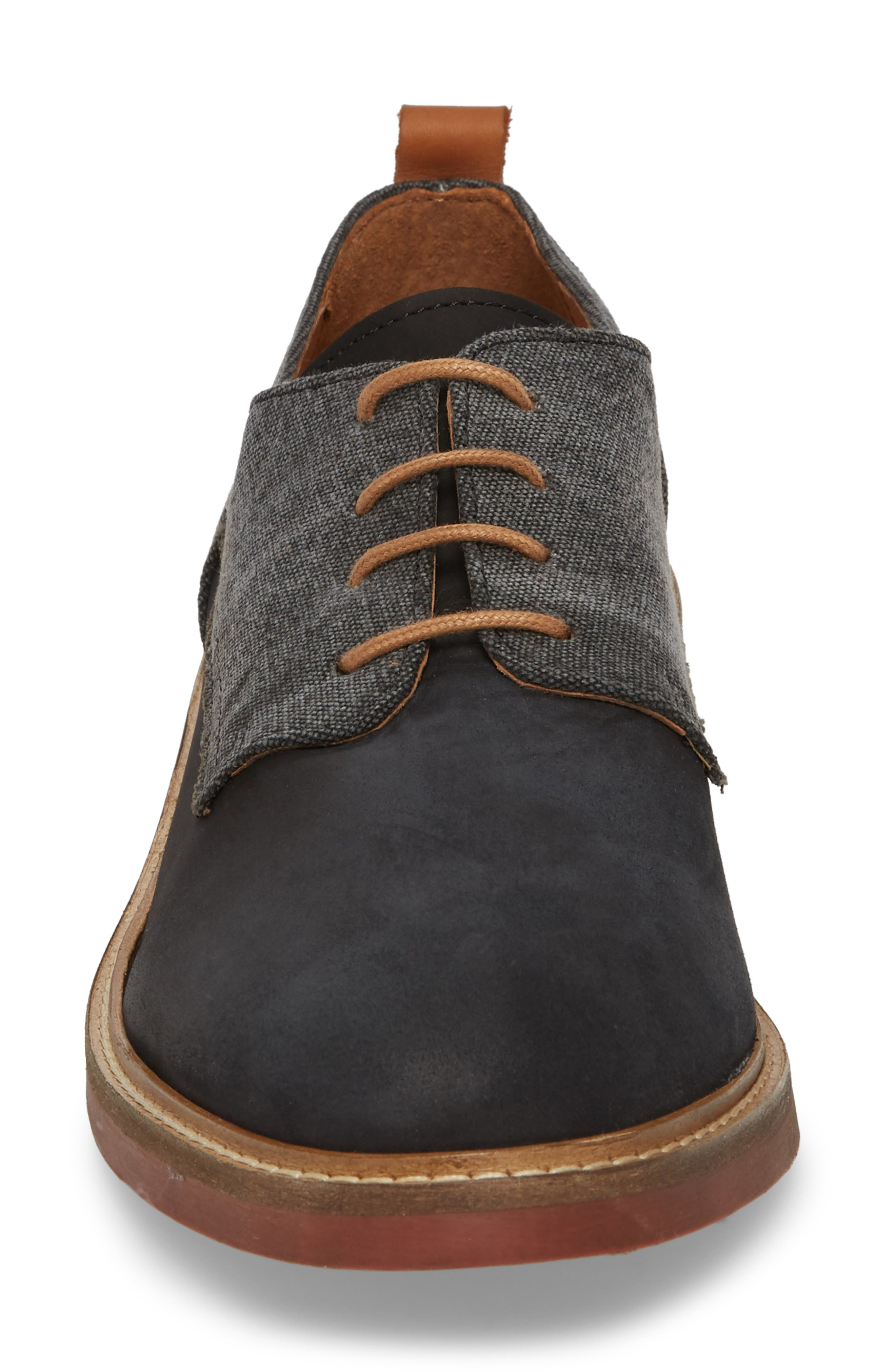 River Water Resistant Derby,                             Alternate thumbnail 4, color,                             Nero