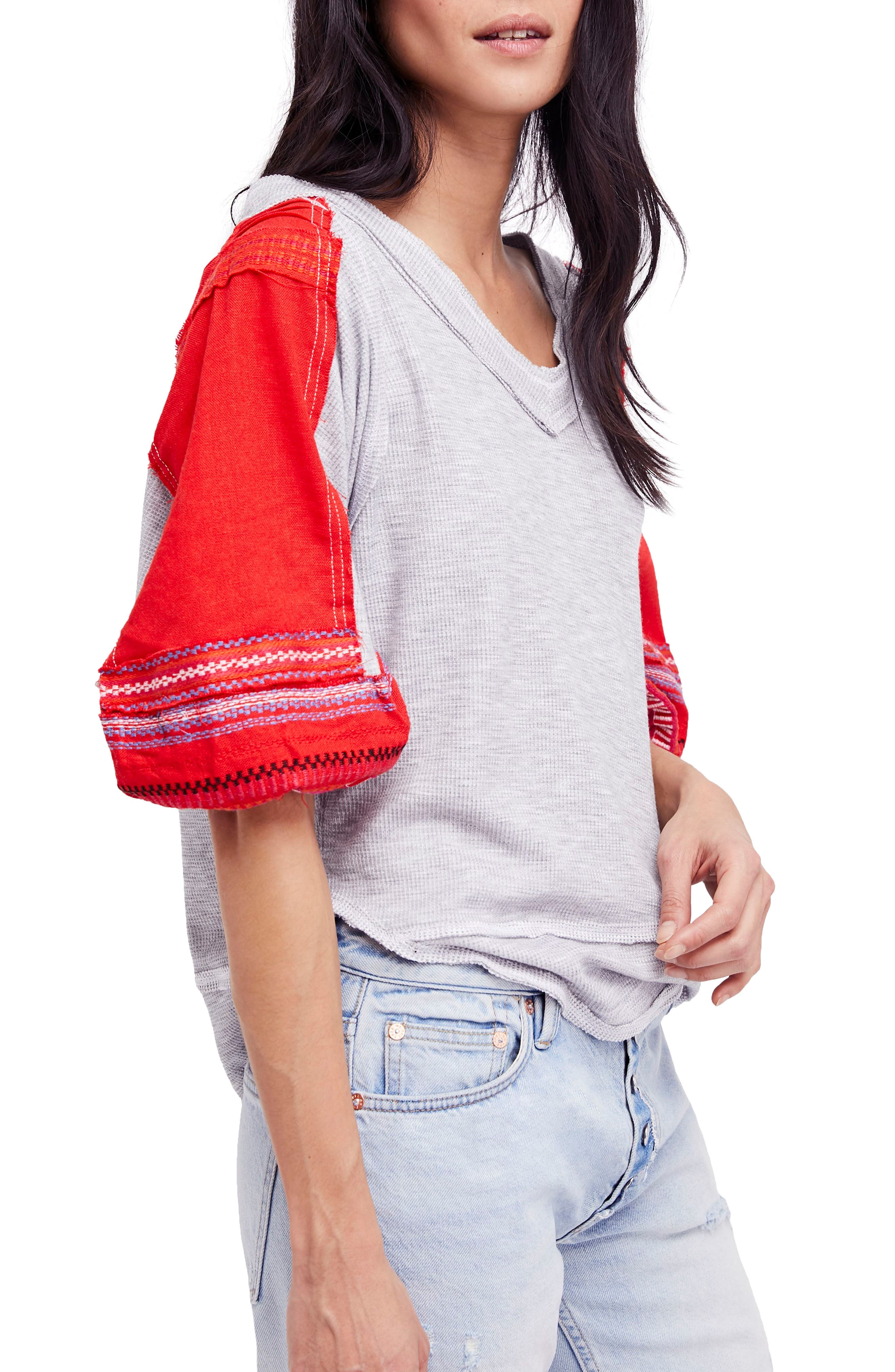 Bubble Shirt,                         Main,                         color, Grey