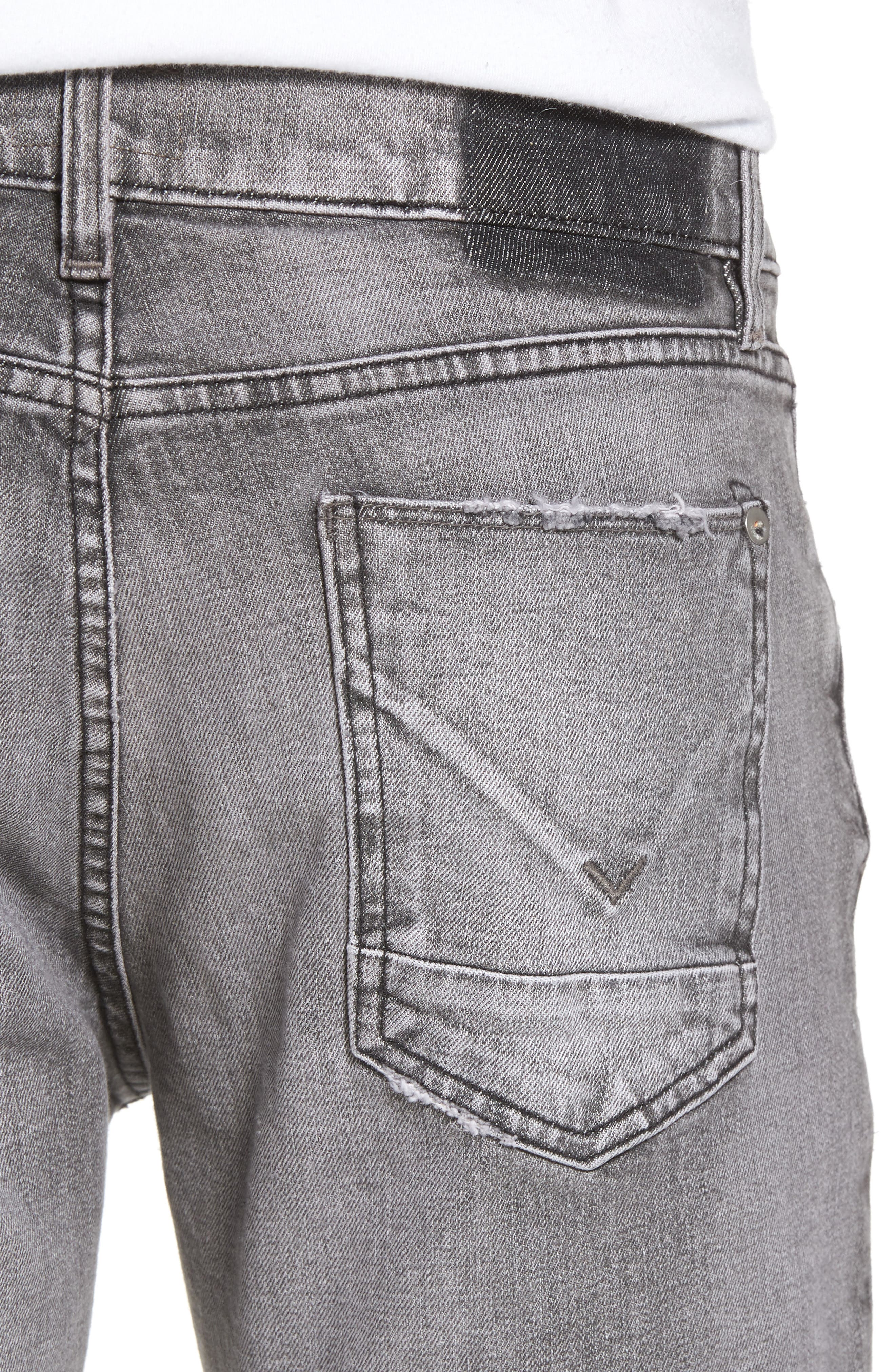Blake Slim Fit Jeans,                             Alternate thumbnail 4, color,                             Chrome