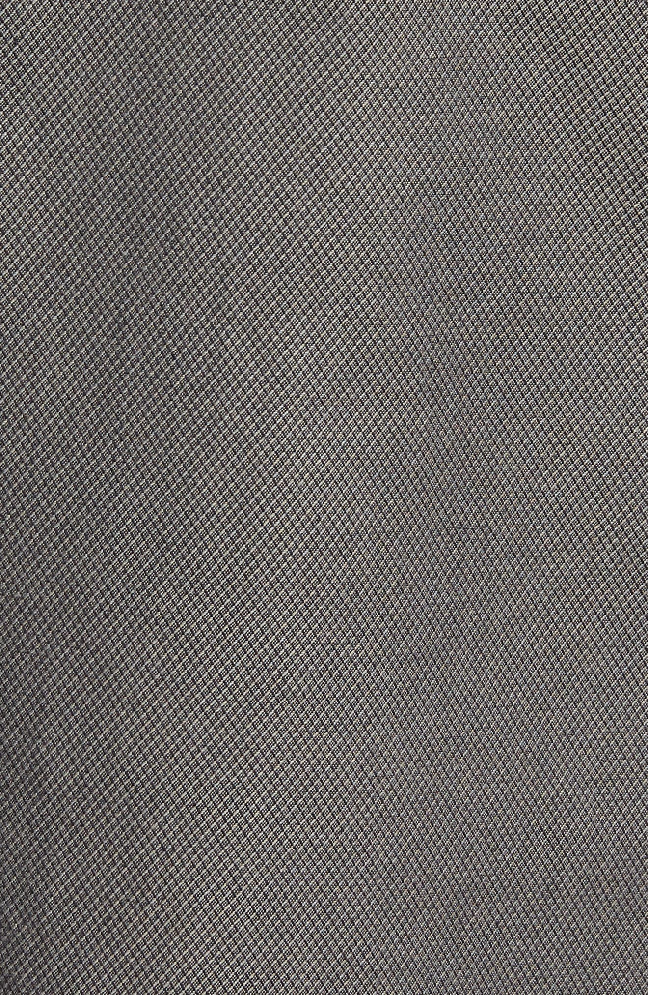 Army Bay Regular Fit Shorts,                             Alternate thumbnail 5, color,                             Granite