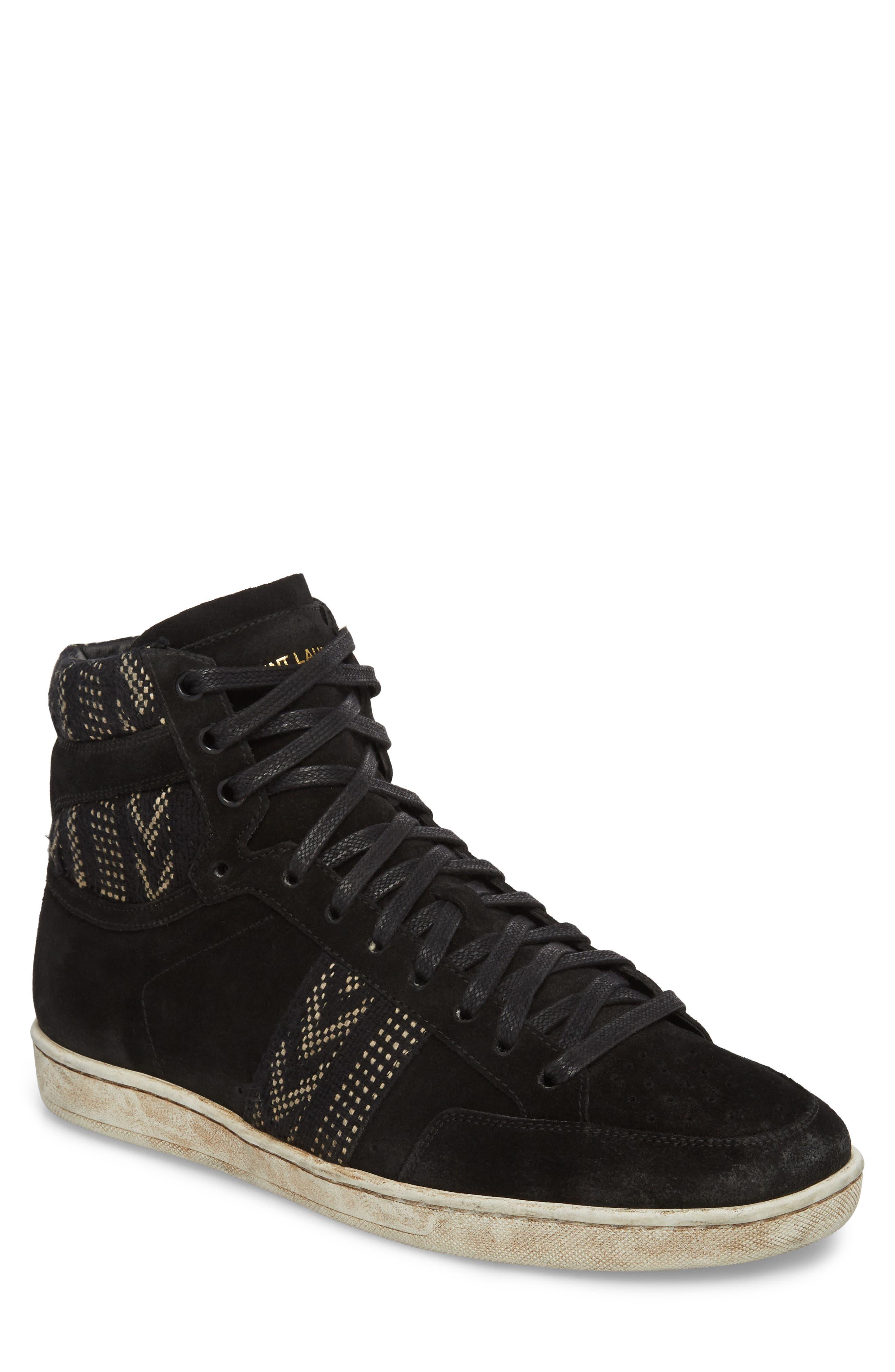 Saint Laurent High Top Sneaker (Men)