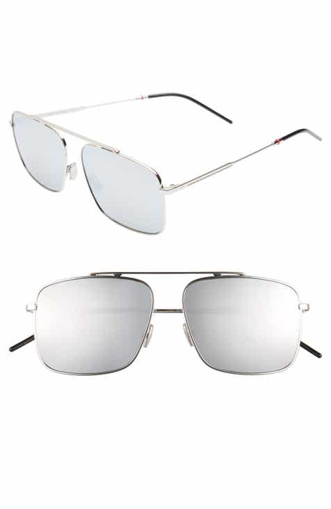 0062a15b0e Dior 58mm Mirrored Navigator Sunglasses