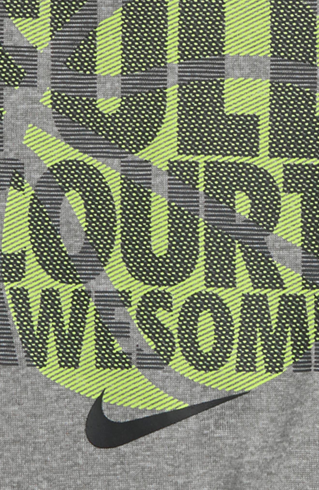 Dry Full Court Awesome Shirt & Shorts Set,                             Alternate thumbnail 2, color,                             Dark Grey Heather